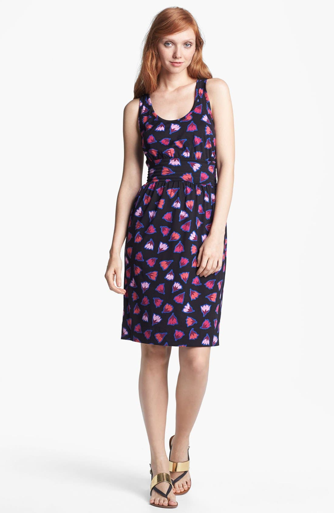 Alternate Image 1 Selected - MARC BY MARC JACOBS 'Blanche' Silk & Cotton Tank Dress