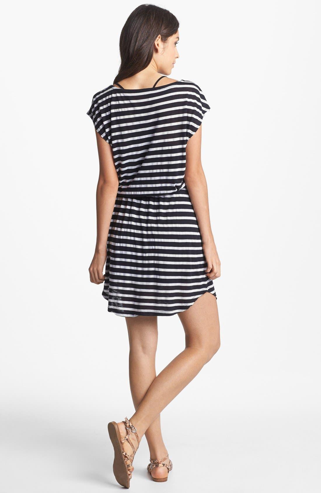 Alternate Image 2  - Splendid Stripe Blouson Dress