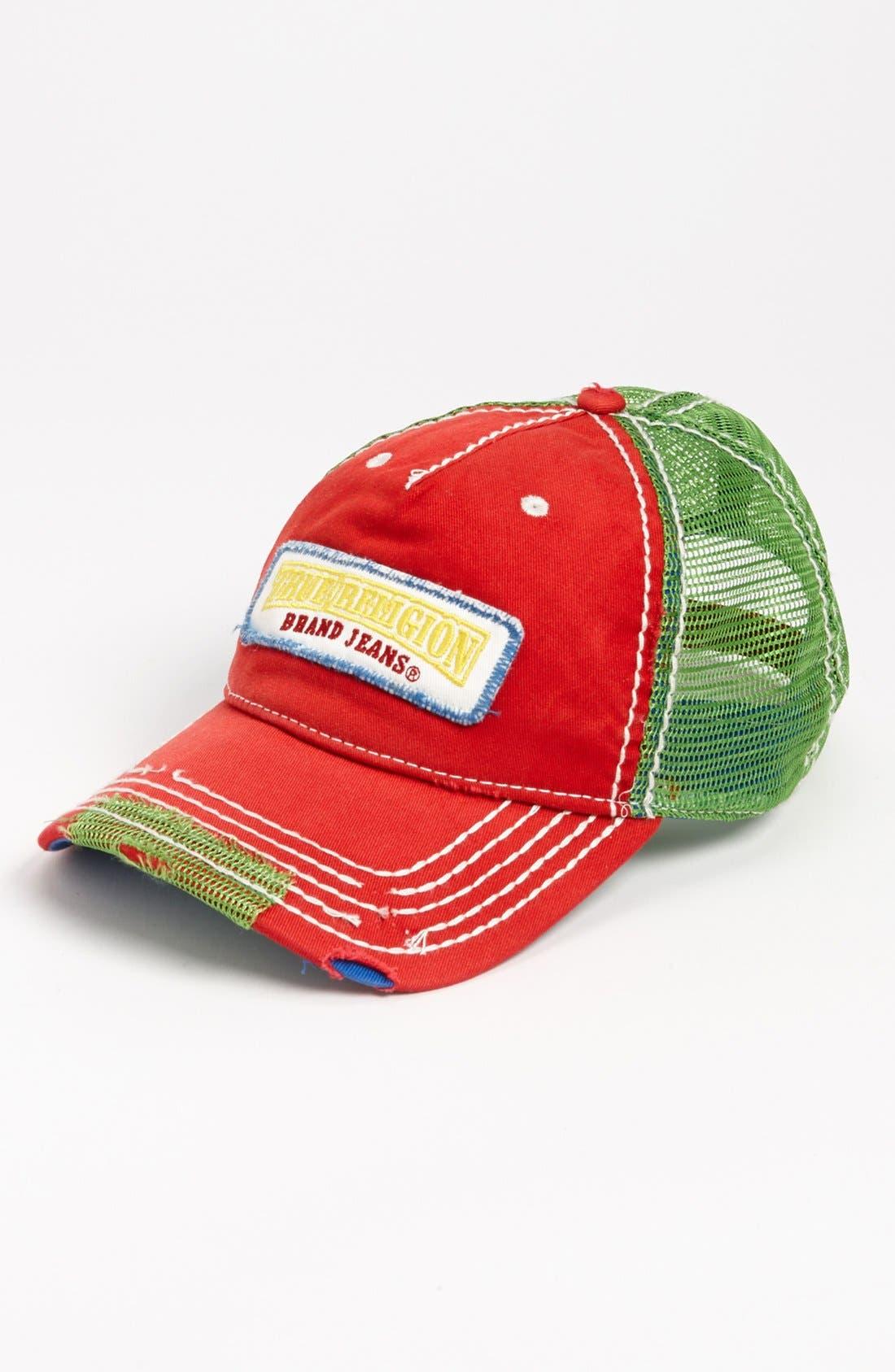 Alternate Image 1 Selected - True Religion Brand Jeans Trucker Hat