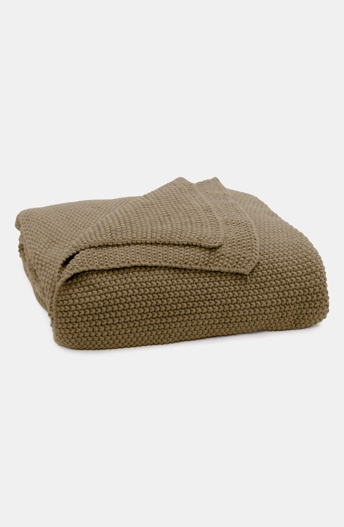 Alternate Image 1 Selected - Donna Karan 'Essentials' Knit Throw (Online Only)