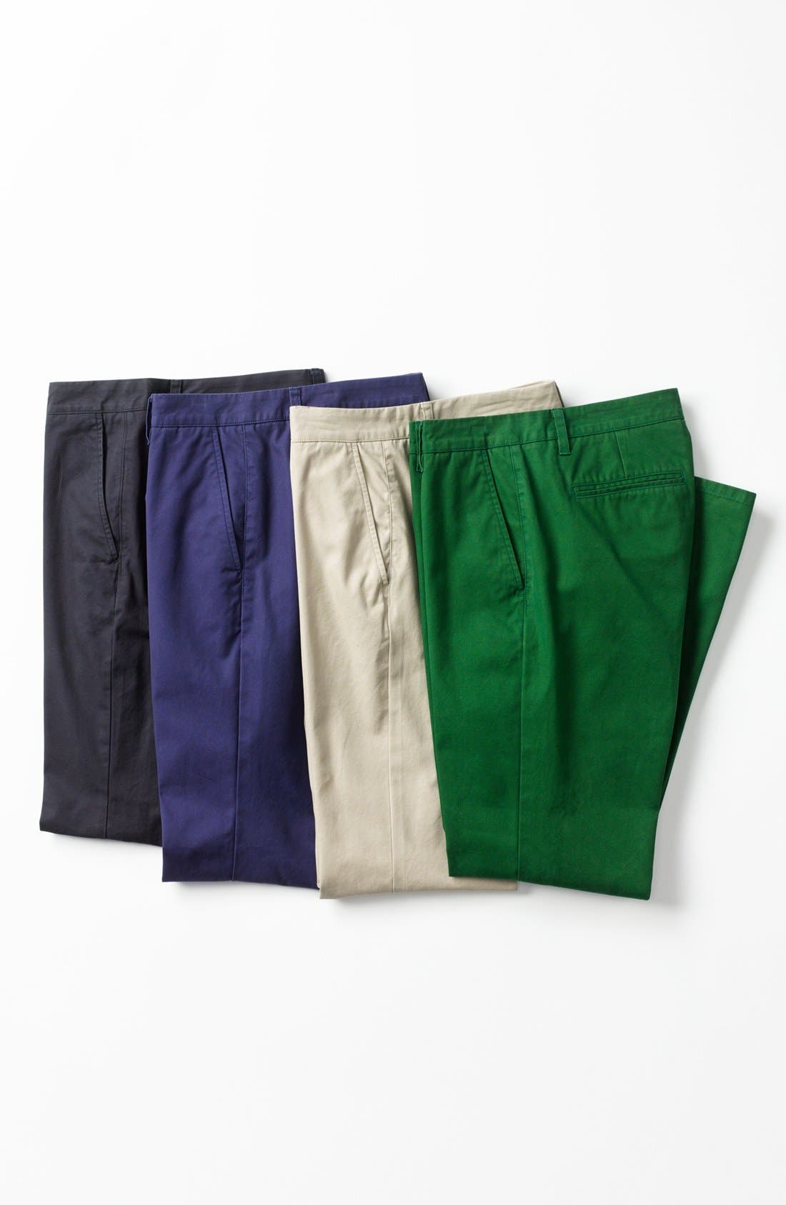 Alternate Image 4  - Bonobos Straight Fit Washed Chinos