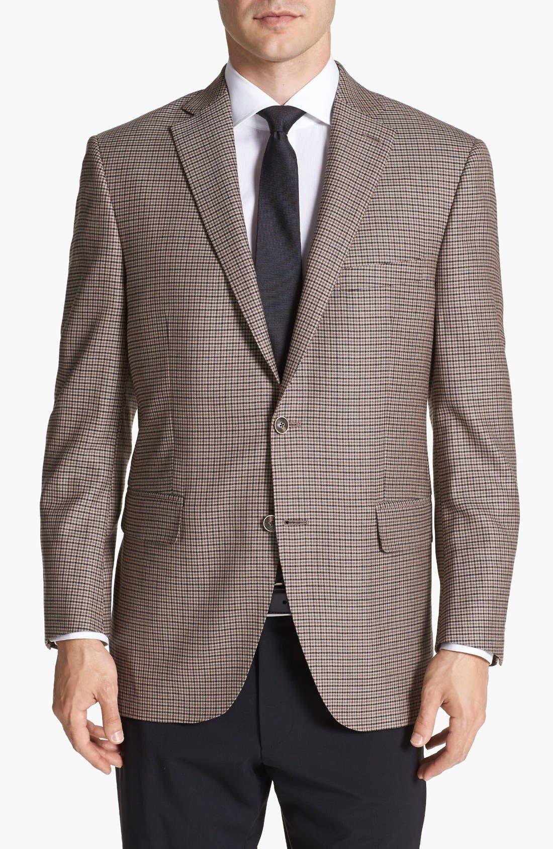 Main Image - Peter Millar Check Wool Sportcoat