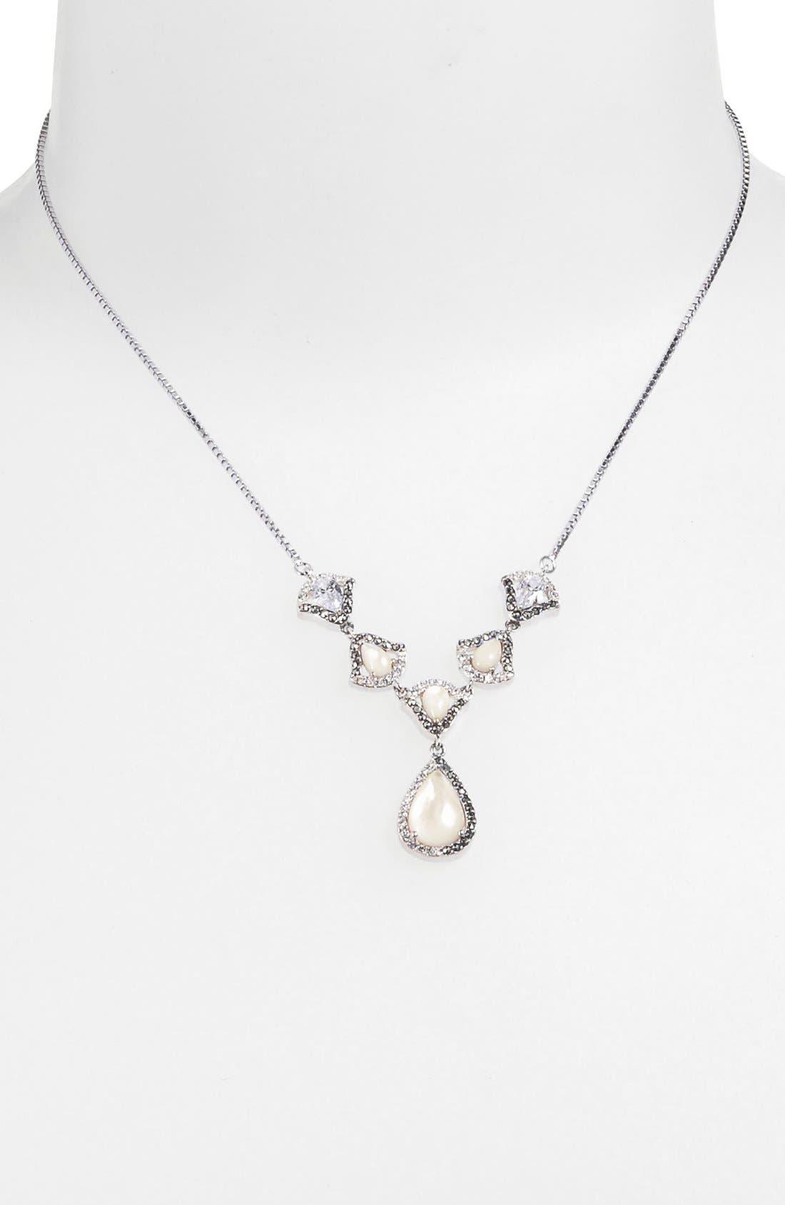 Alternate Image 1 Selected - Judith Jack 'Amore' Pendant Necklace