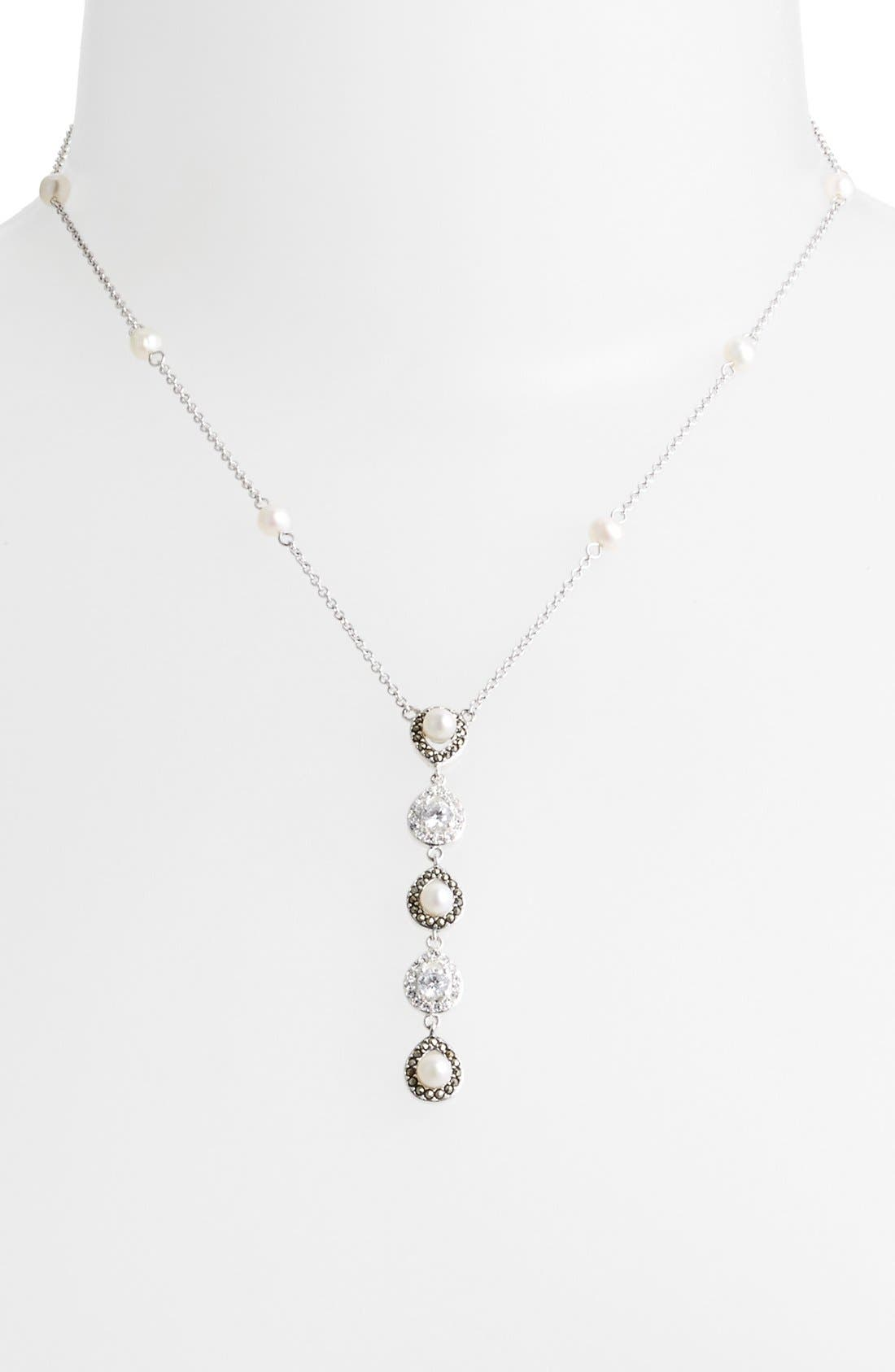Main Image - Judith Jack 'Pearlette' Y-Necklace