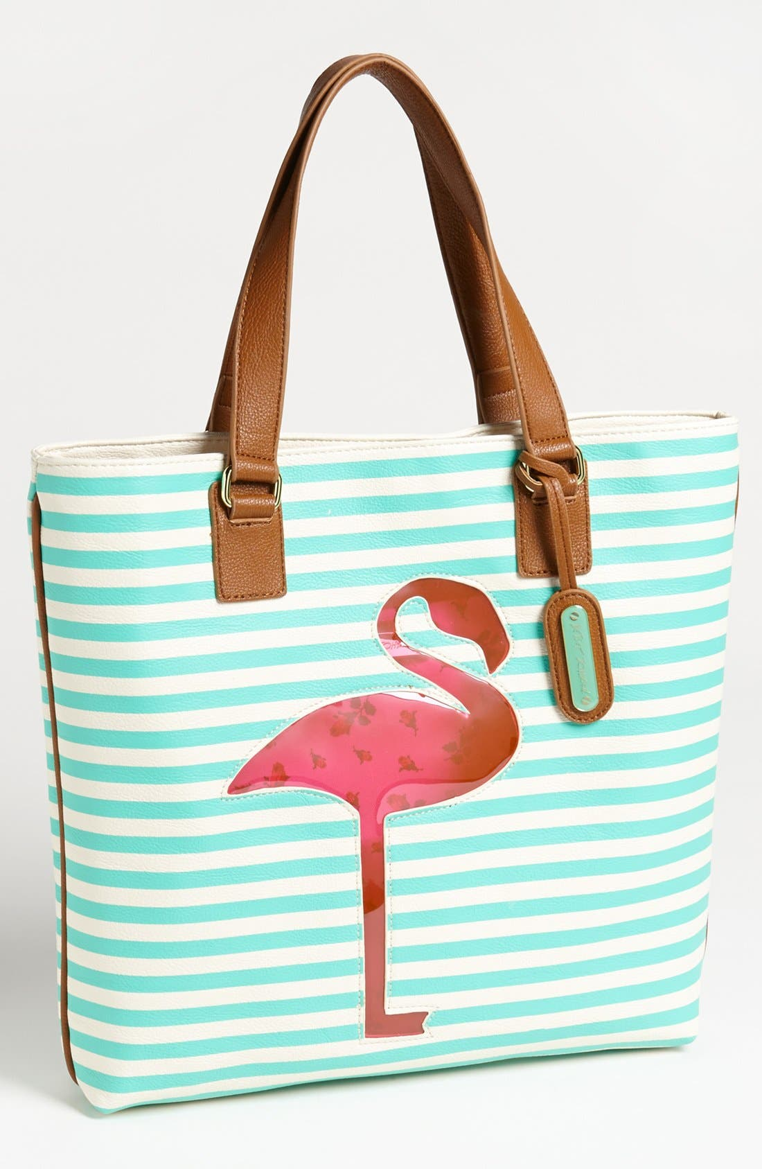 Alternate Image 1 Selected - Betsey Johnson 'Cut It Up' Tote