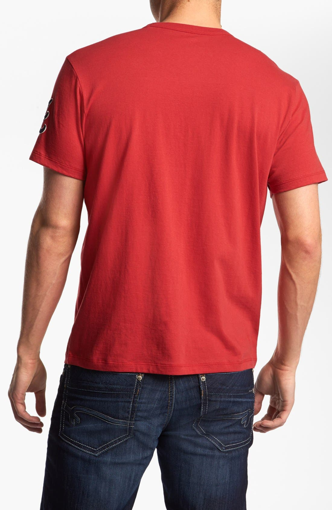 Alternate Image 2  - 47 Brand 'Atlanta Braves - Fieldhouse' T-Shirt
