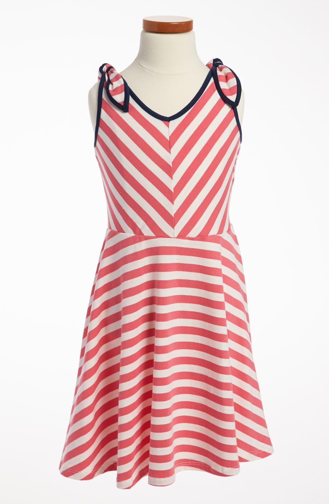 Main Image - Zunie Sleeveless Skater Dress (Little Girls & Big Girls)