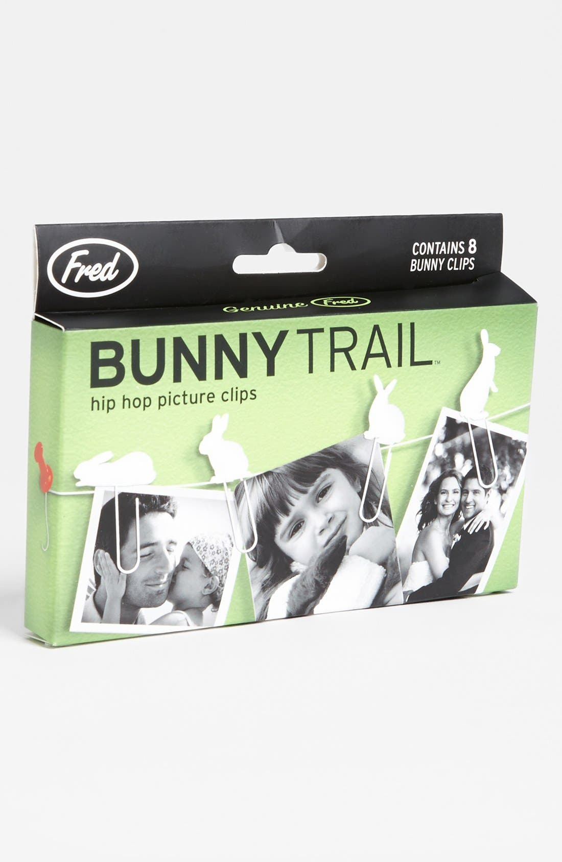 Alternate Image 1 Selected - 'Bunny Trail' Picture Clips (Set of 8)
