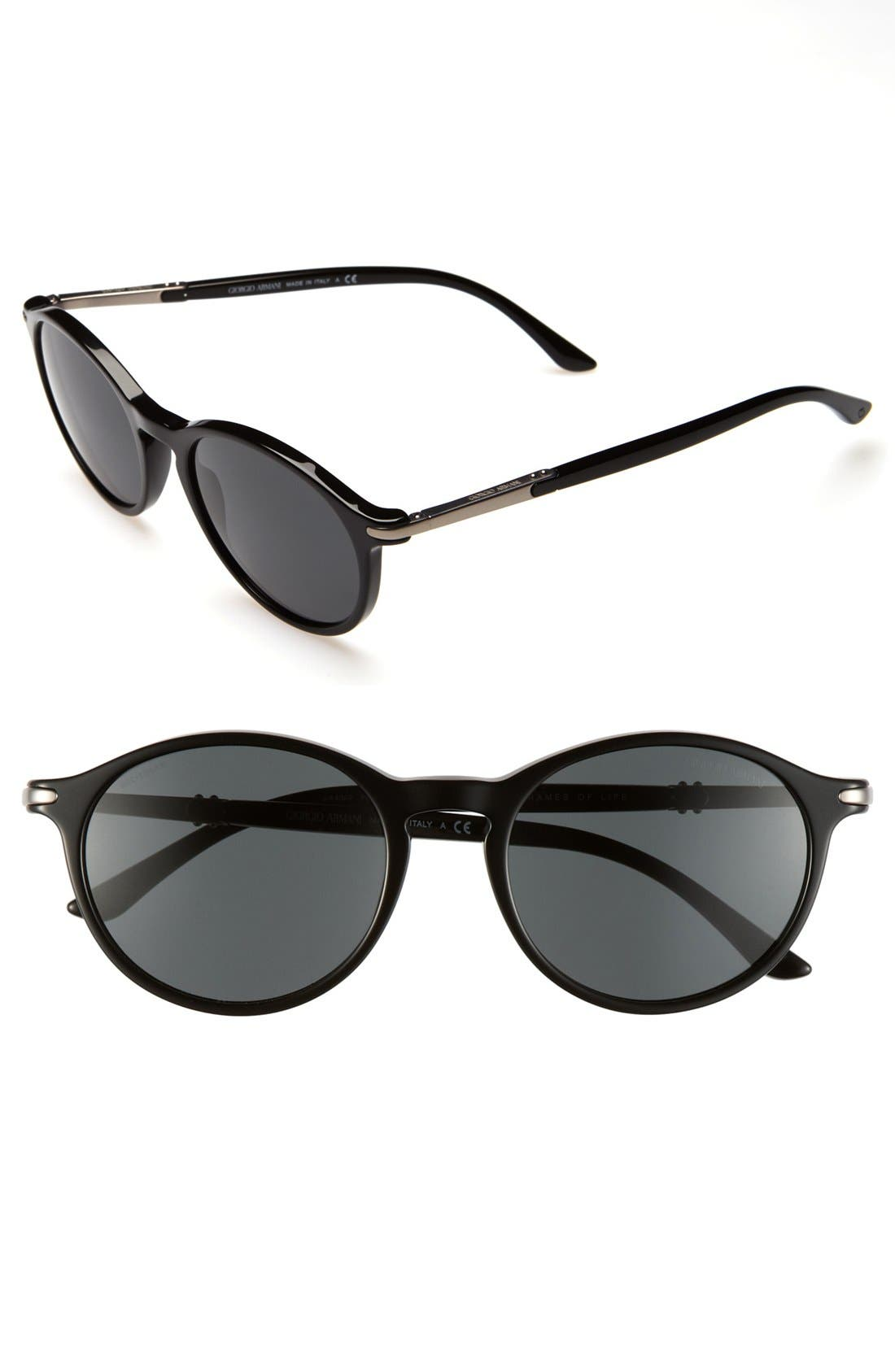 Alternate Image 1 Selected - Giorgio Armani 52mm Sunglasses