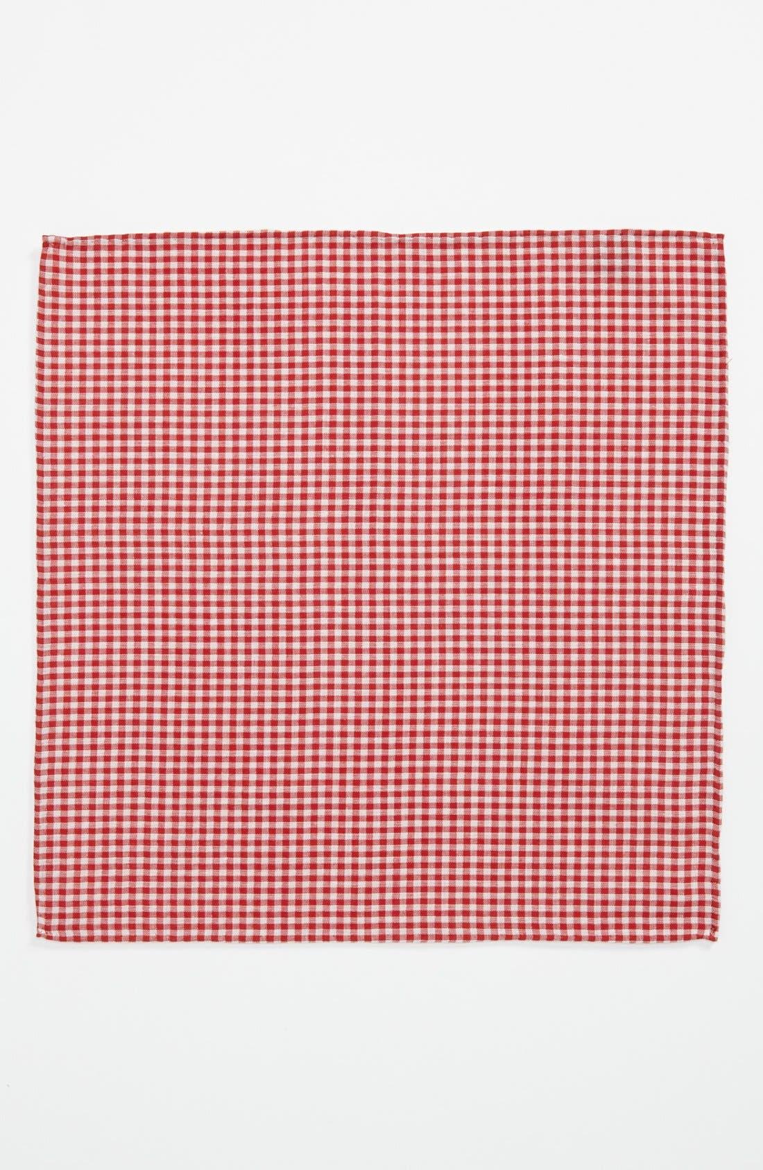 Alternate Image 2  - Simon Cotton Pocket Square