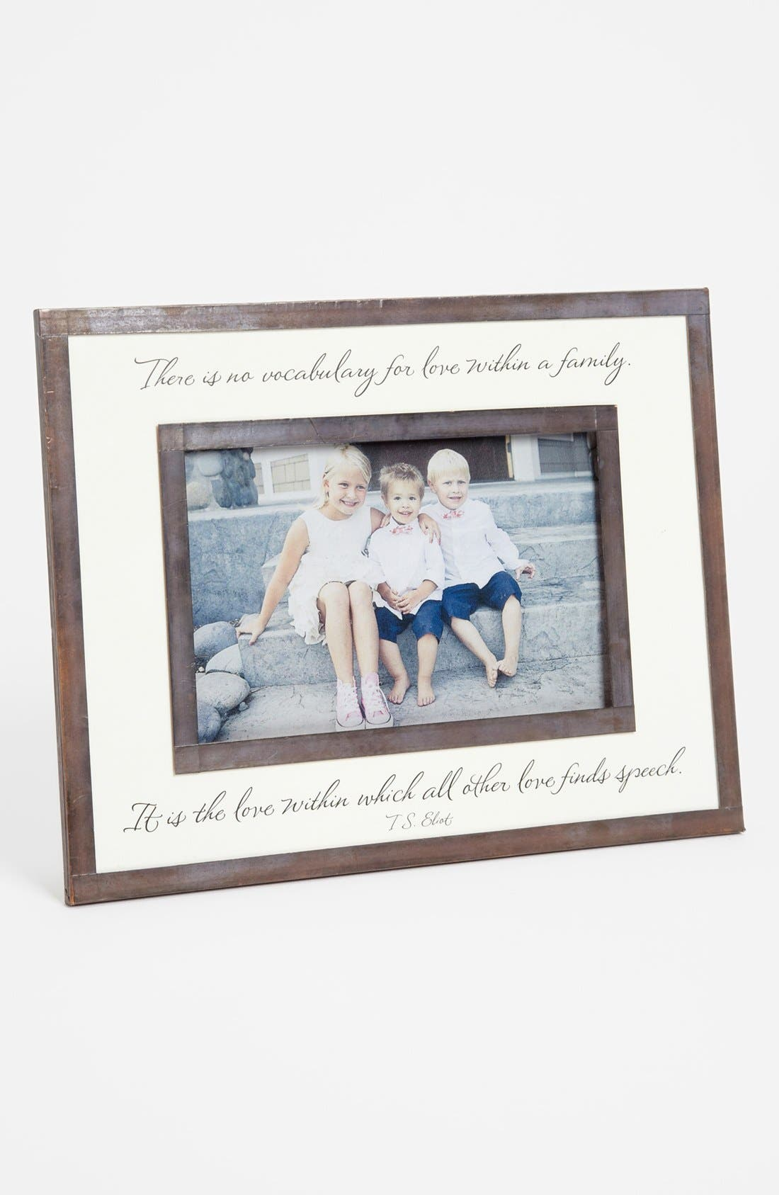 Main Image - Ben's Garden 'No Vocabulary for Love' Picture Frame (4x6)