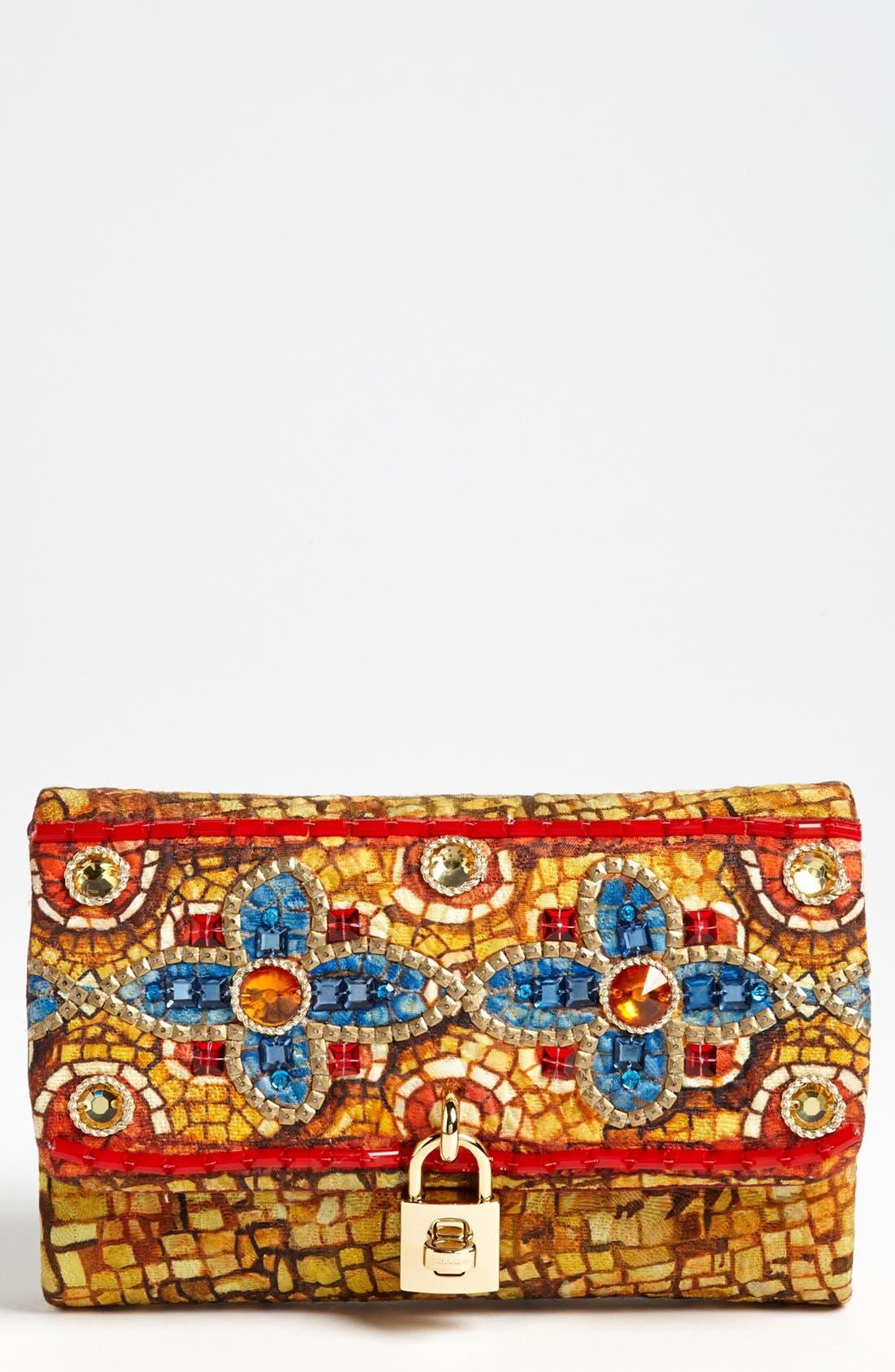 Main Image - Dolce&Gabbana 'Miss Dolce - Greek Mosaic' Shoulder Bag