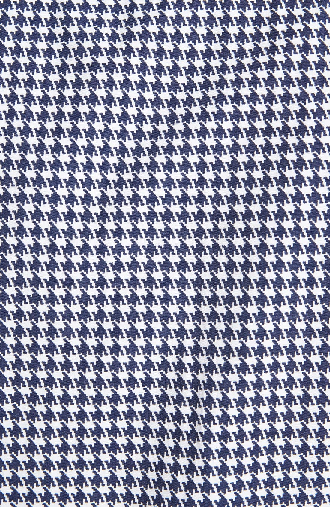 Alternate Image 3  - Topman Micro Houndstooth Shirt