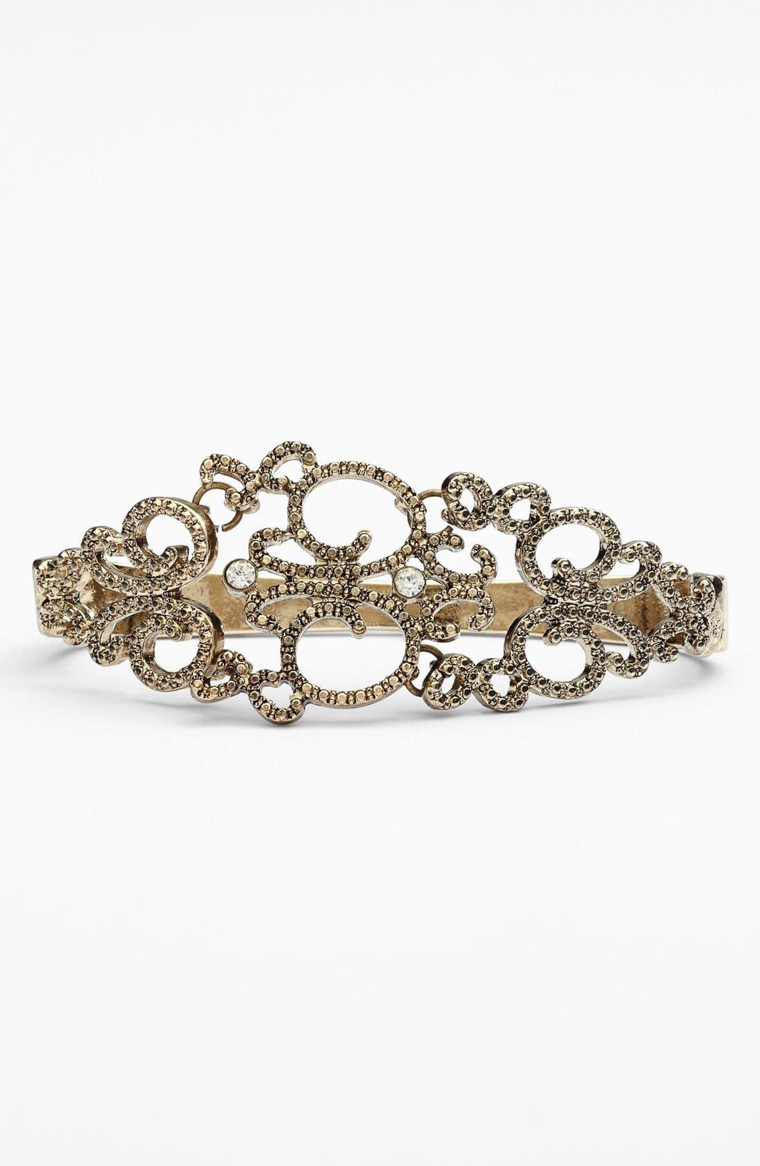 Alternate Image 1 Selected - Tildon 'Vintage' Hand Bracelet