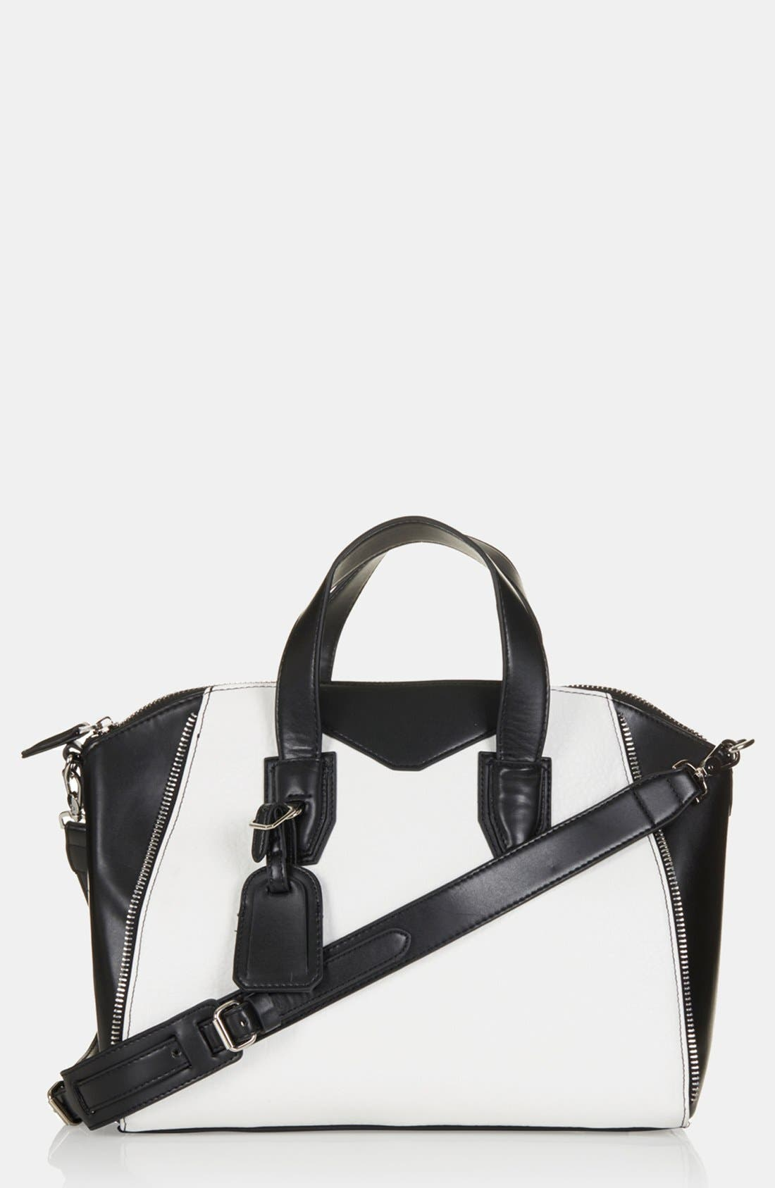 Alternate Image 1 Selected - Topshop 'Evian' Satchel, Medium
