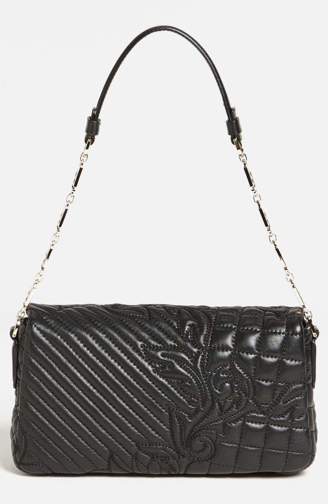 Alternate Image 4  - Versace 'Linea' Leather Shoulder Bag