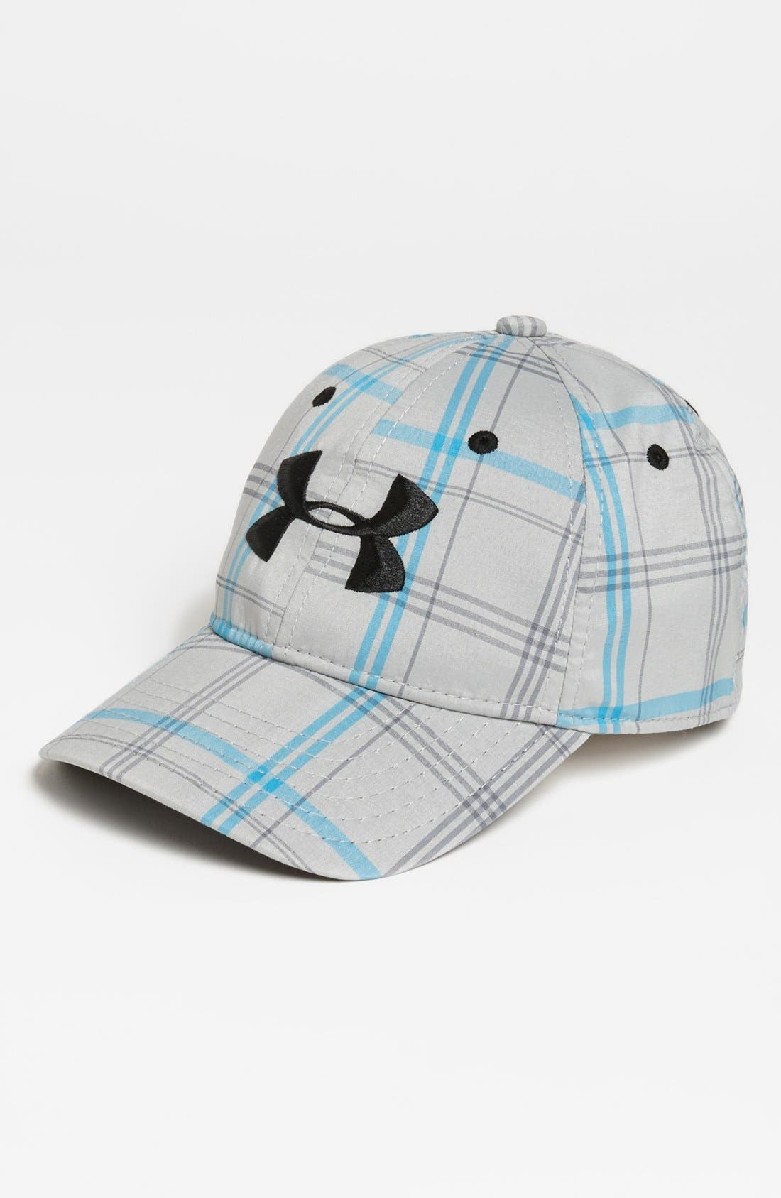 Main Image - Under Armour 'Forged' Fitted Baseball Cap (Boys)