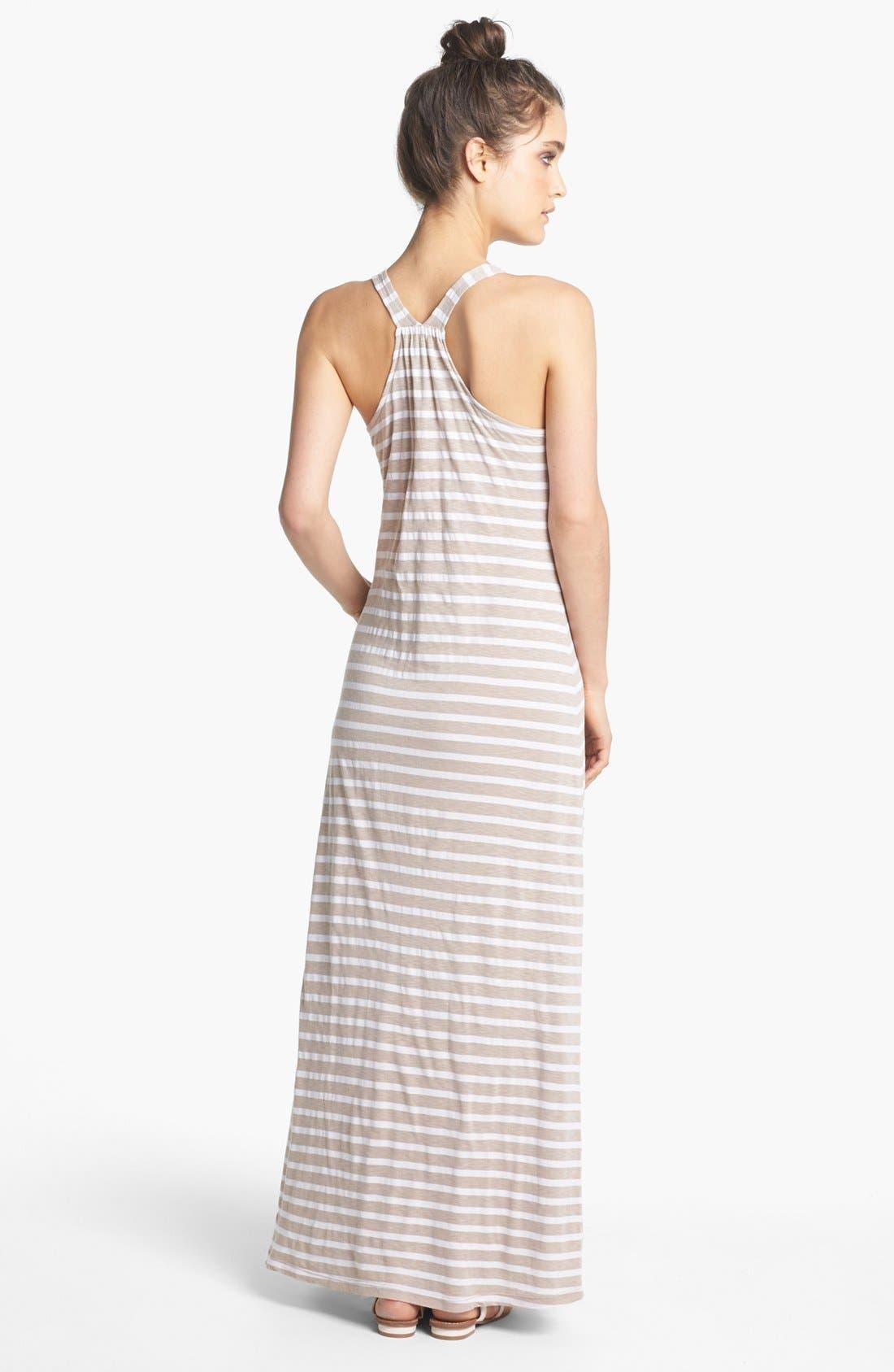Alternate Image 2  - Splendid Stripe Maxi Dress