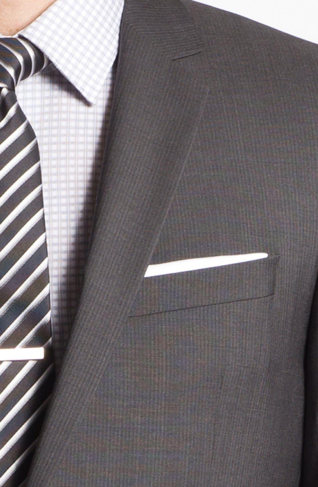 Alternate Image 2  - HUGO 'Amaro/Heise' Trim Fit Wool Suit