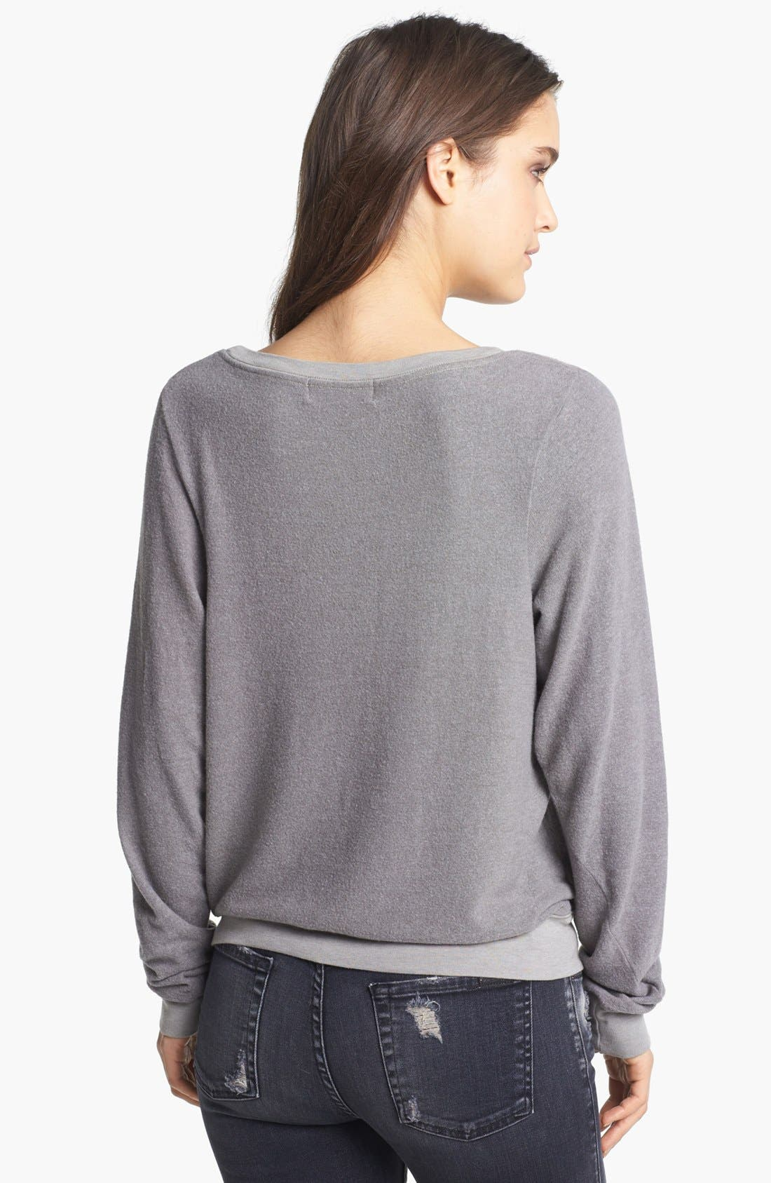 Alternate Image 2  - Wildfox 'London Heart' Sweatshirt (Nordstrom Exclusive)