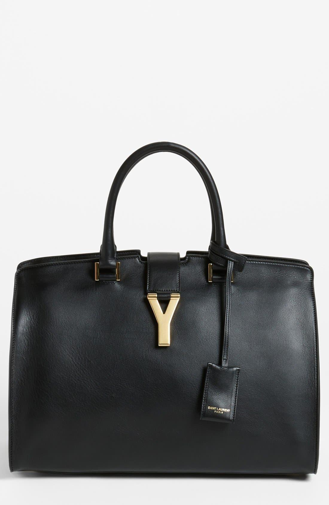 Alternate Image 1 Selected - Saint Laurent 'Ligne Y' Leather Satchel
