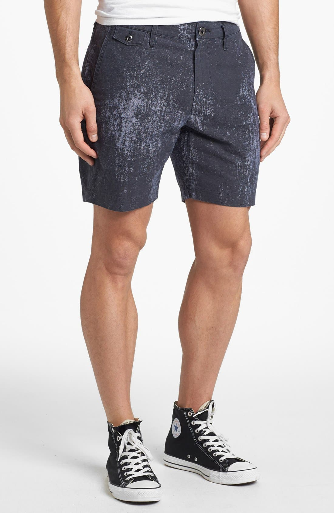 Alternate Image 1 Selected - MARC BY MARC JACOBS Painted Chambray Shorts