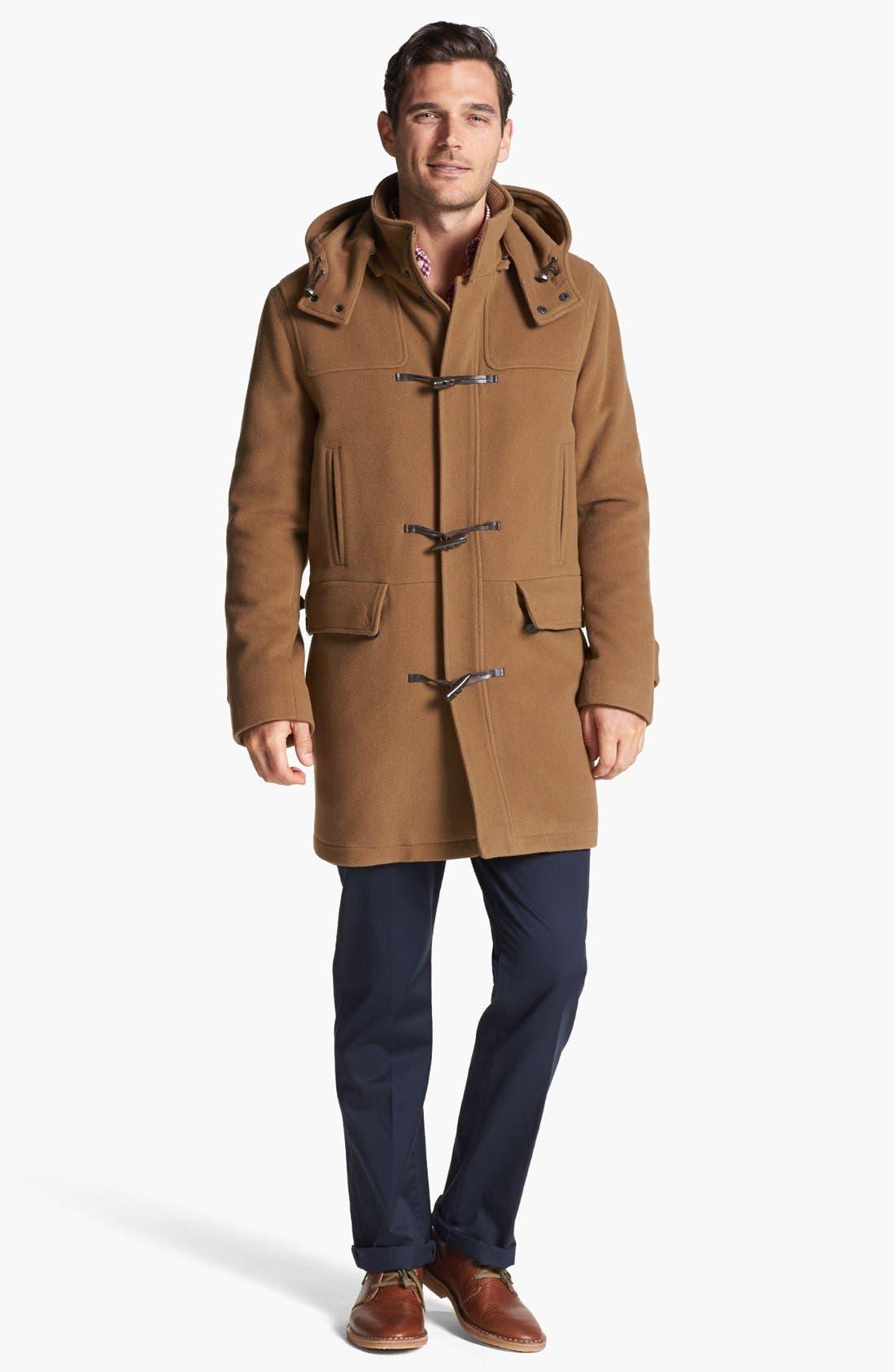 Alternate Image 3  - Cole Haan Wool Blend Duffle Coat