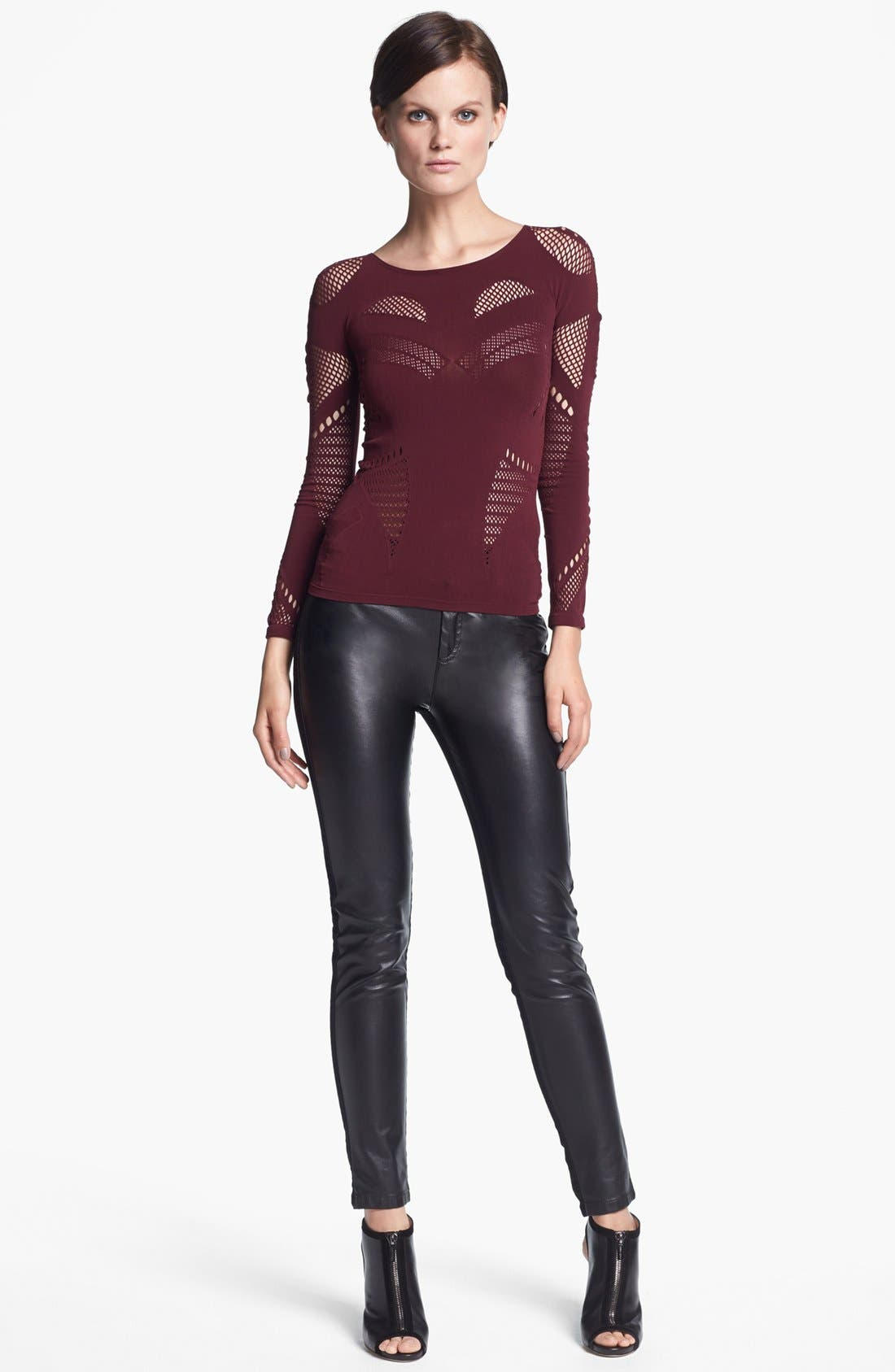 Alternate Image 1 Selected - McQ by Alexander McQueen Top & Pants