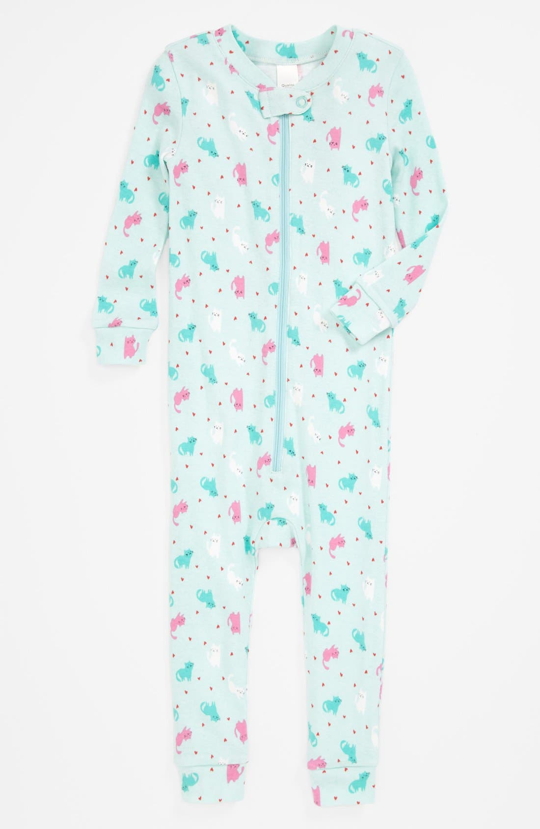 Alternate Image 1 Selected - Tucker + Tate Fitted Pajamas (Baby Girls)