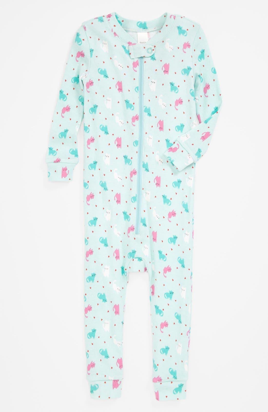 Main Image - Tucker + Tate Fitted Pajamas (Baby Girls)