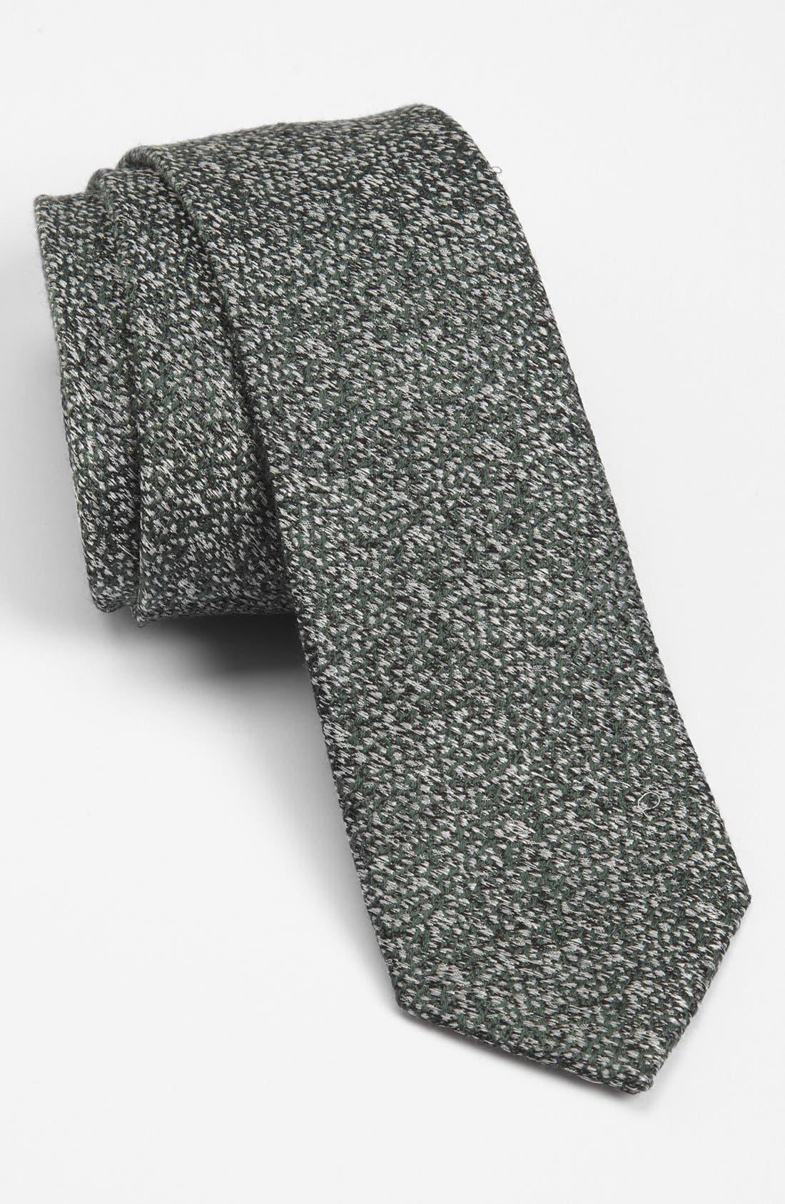 Main Image - Topman Woven Jacquard Tie