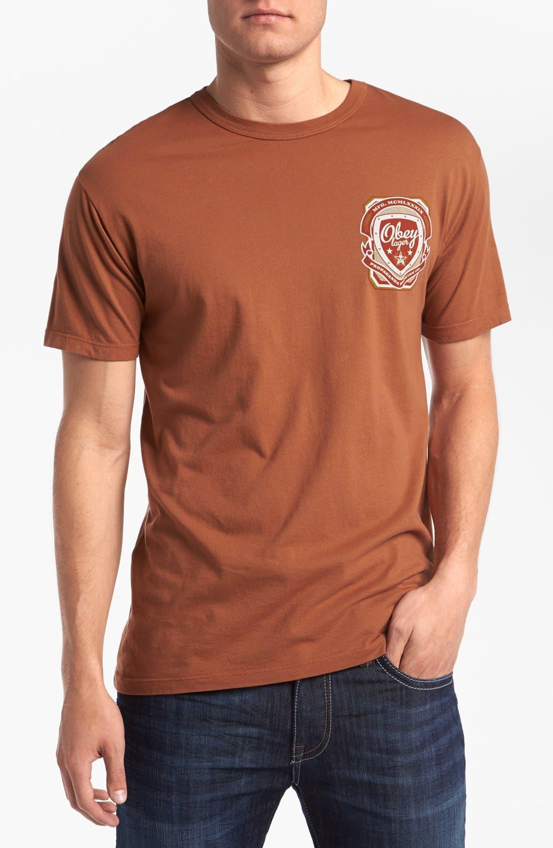 Main Image - Obey 'Propaganda Brewing Co.' T-Shirt