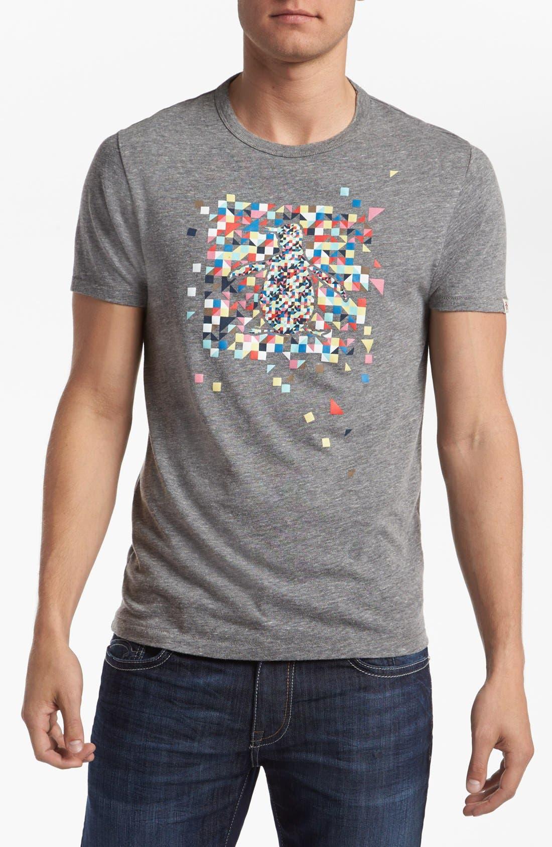 Alternate Image 1 Selected - Original Penguin 'Mosaic Bird' T-Shirt