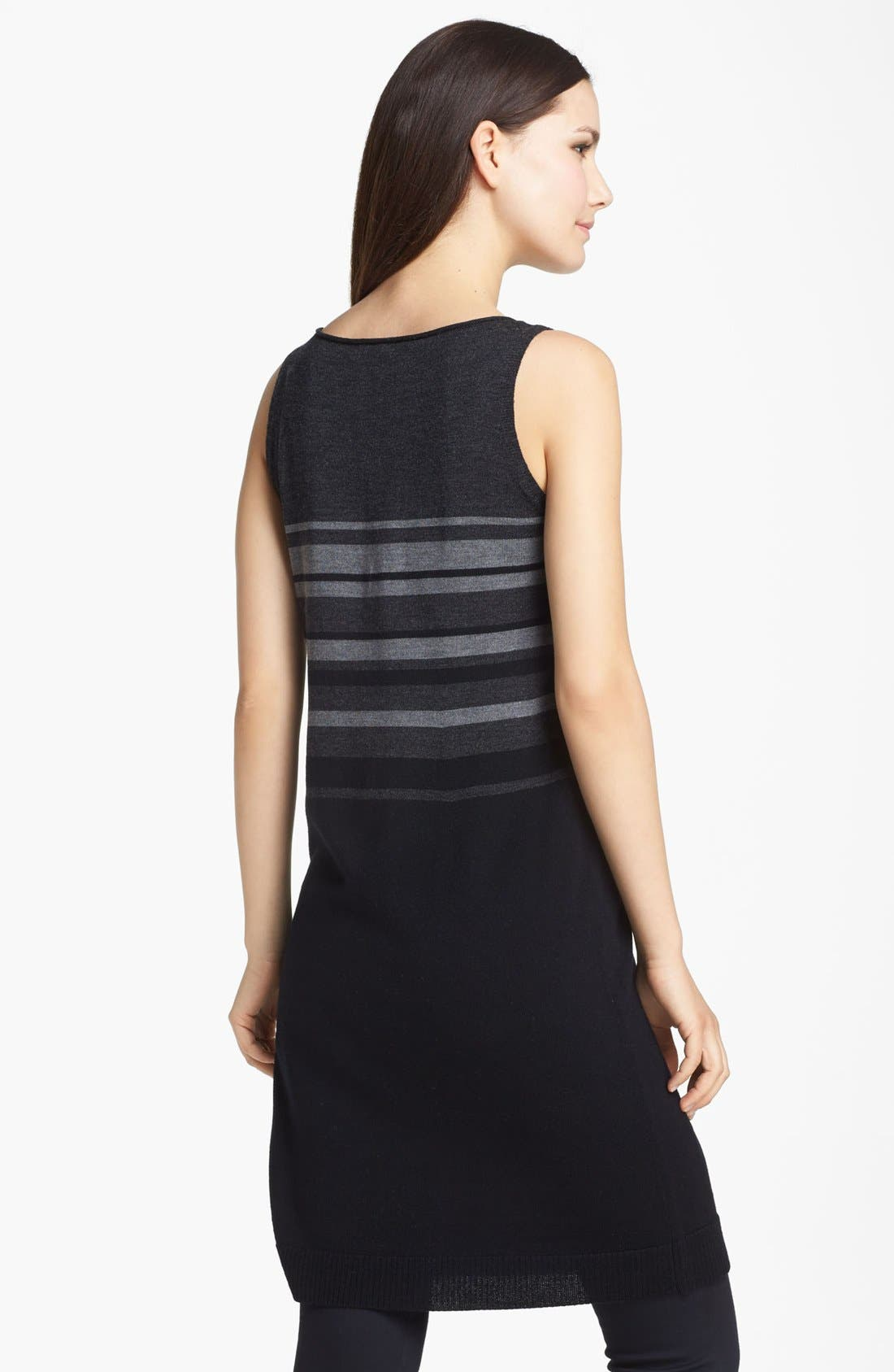 Alternate Image 2  - Eileen Fisher Merino Jersey Dress