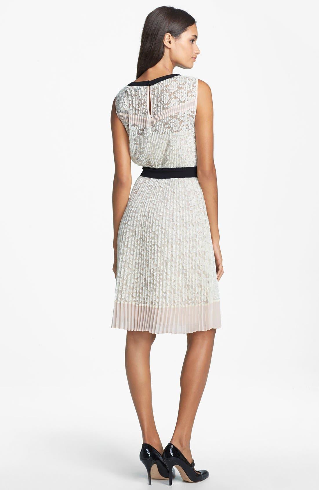 Alternate Image 2  - Ted Baker London Lace Blouson Dress