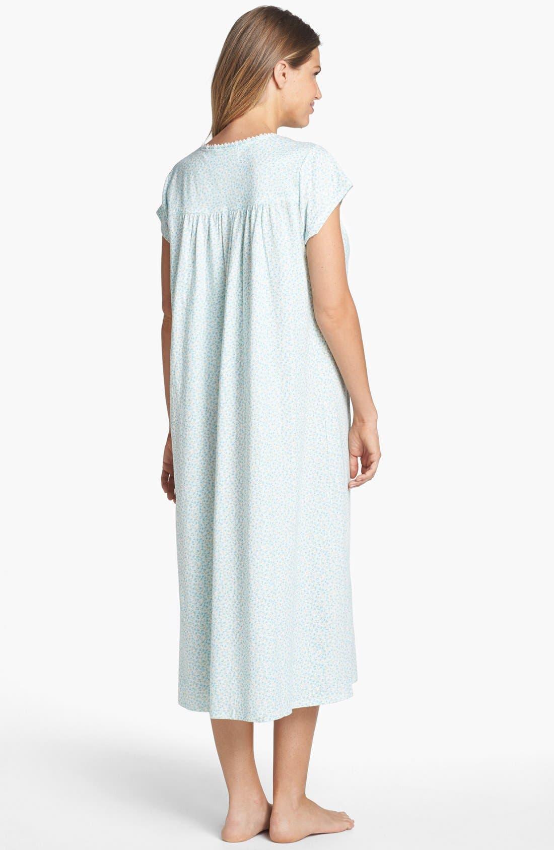Alternate Image 2  - Eileen West 'Wildflower Bluffs' Nightgown