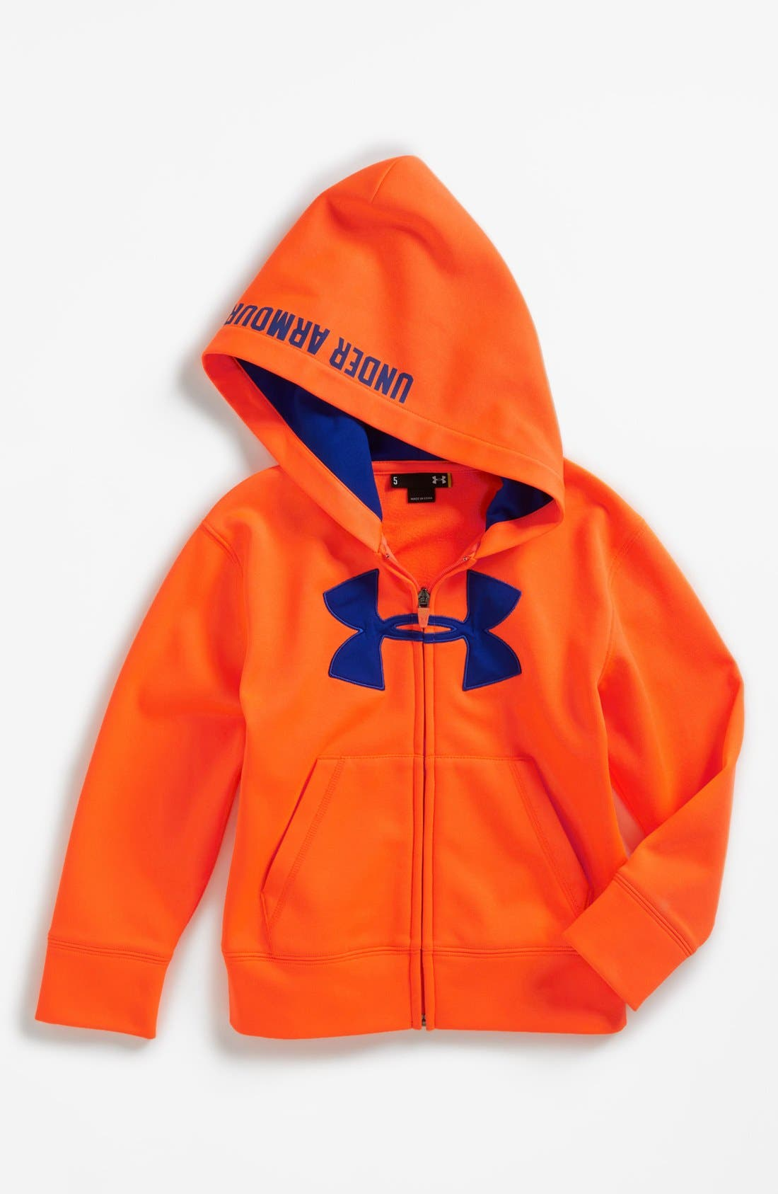 Alternate Image 1 Selected - Under Armour Armour® Hoodie (Little Boys)