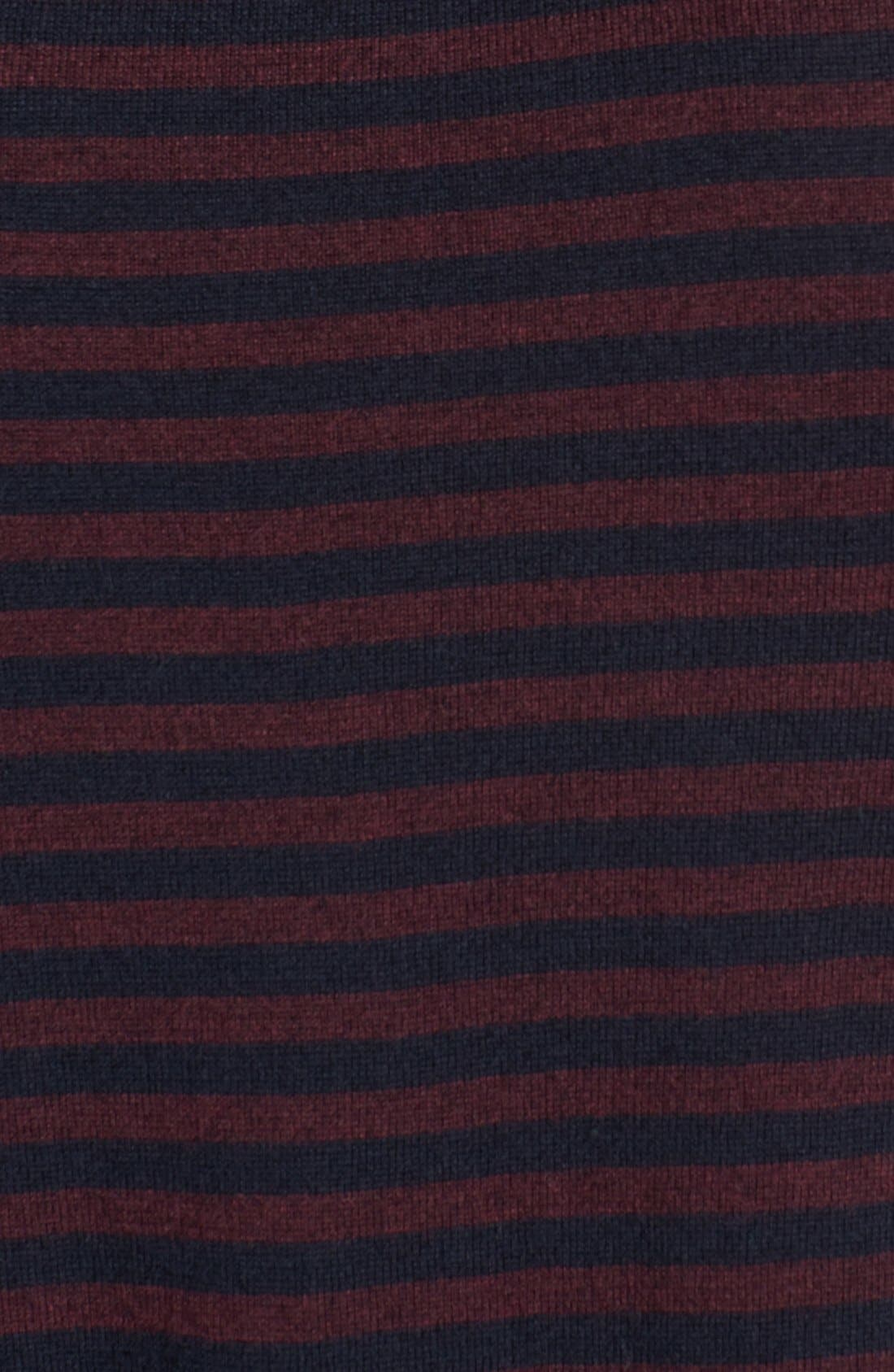 Alternate Image 3  - Ted Baker London 'Moseley' Striped Crewneck Sweater