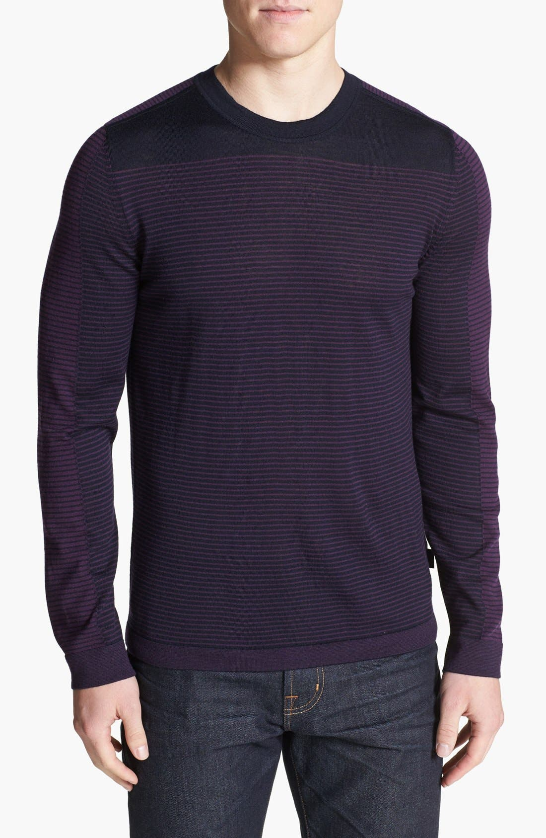Alternate Image 1 Selected - BOSS HUGO BOSS 'Merro' Merino Wool Sweater