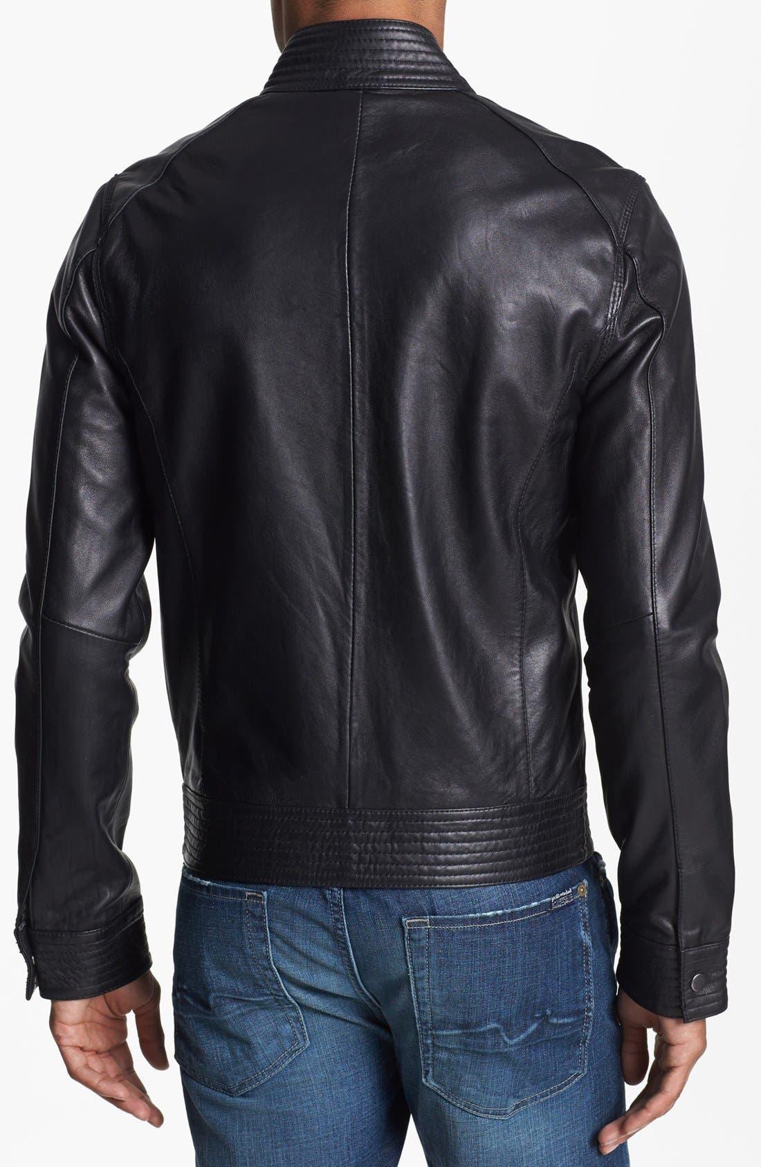 Alternate Image 2  - 7 Diamonds 'Sprint' Leather Jacket