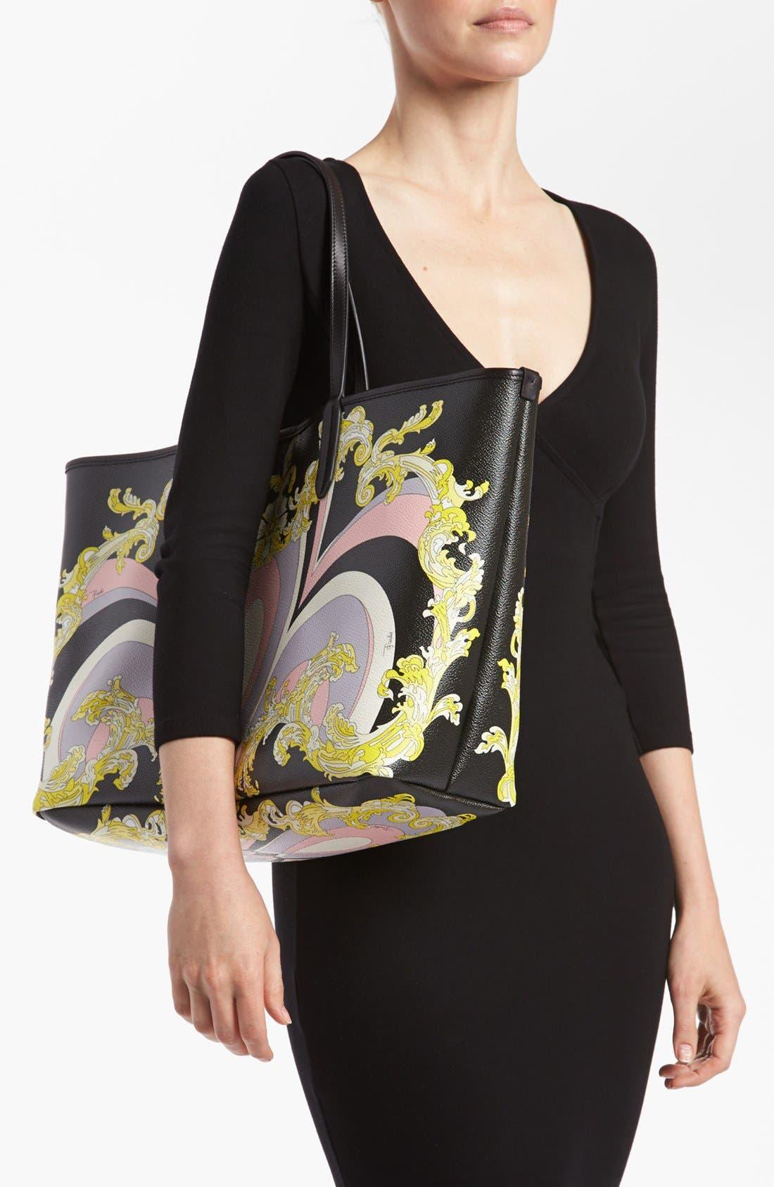 Alternate Image 2  - Emilio Pucci 'Large' Shopping Tote