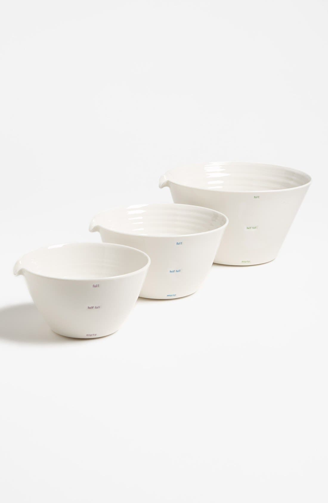 Alternate Image 1 Selected - 'Word Range' Mixing Bowls (Set of 3)