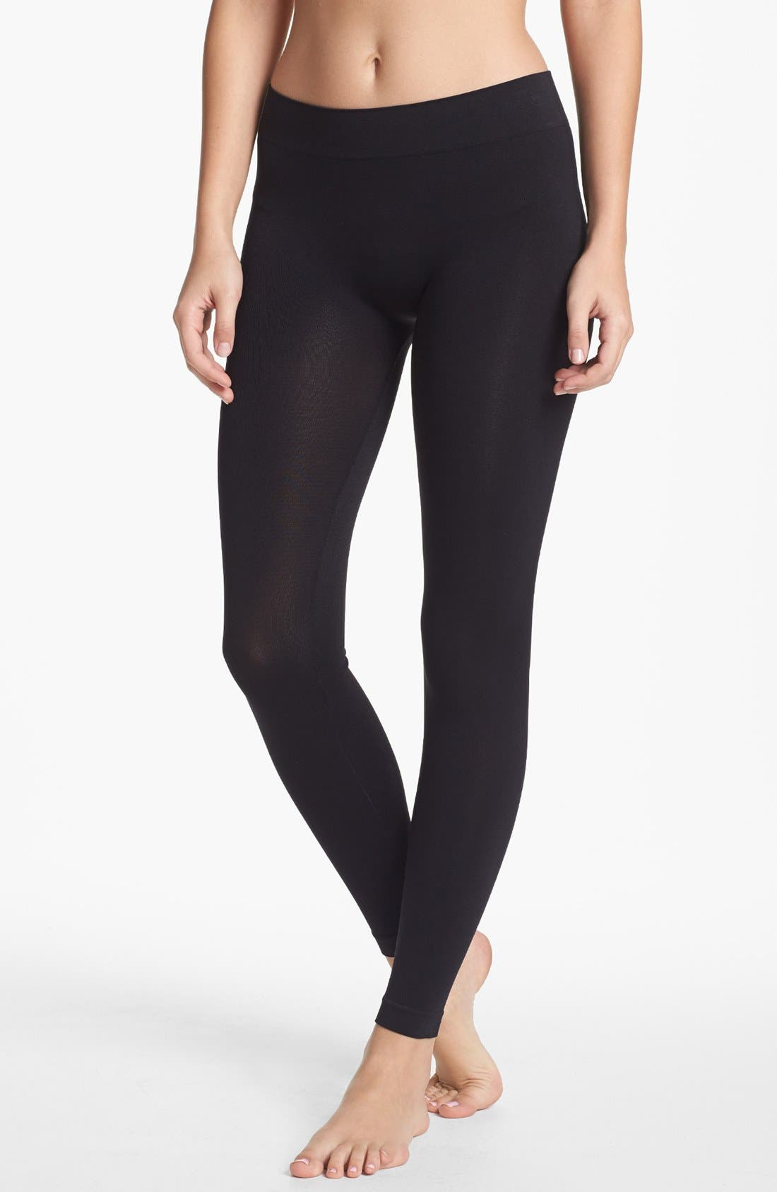 Alternate Image 1 Selected - Abound Tubular Leggings (Juniors) (Special Purchase)