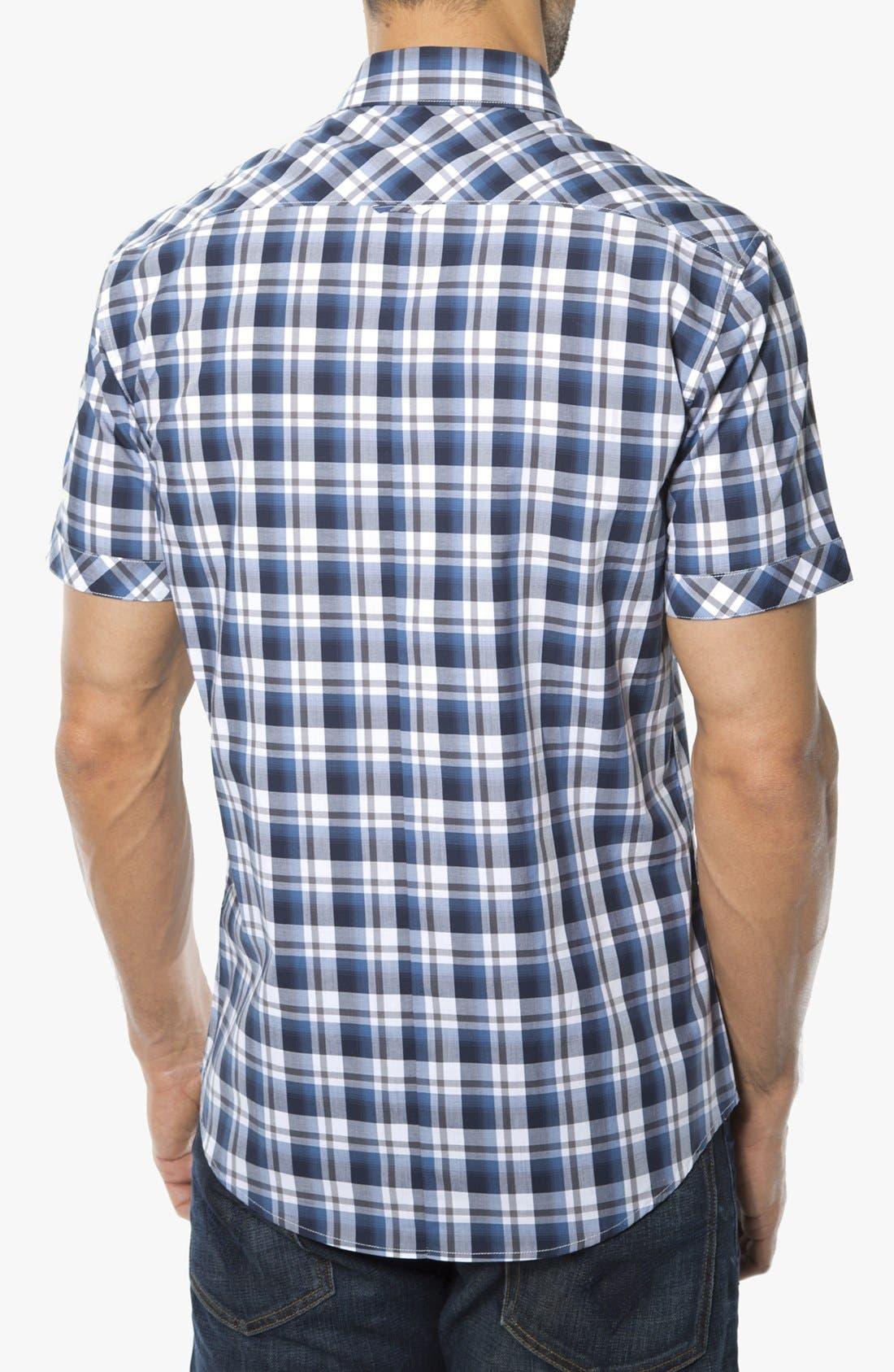 Alternate Image 2  - 7 Diamonds 'Best Thing for Me' Woven Short Sleeve Shirt