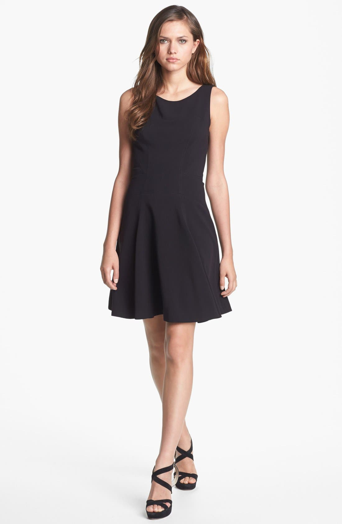 Alternate Image 1 Selected - Rachel Roy Paneled Fit & Flare Dress