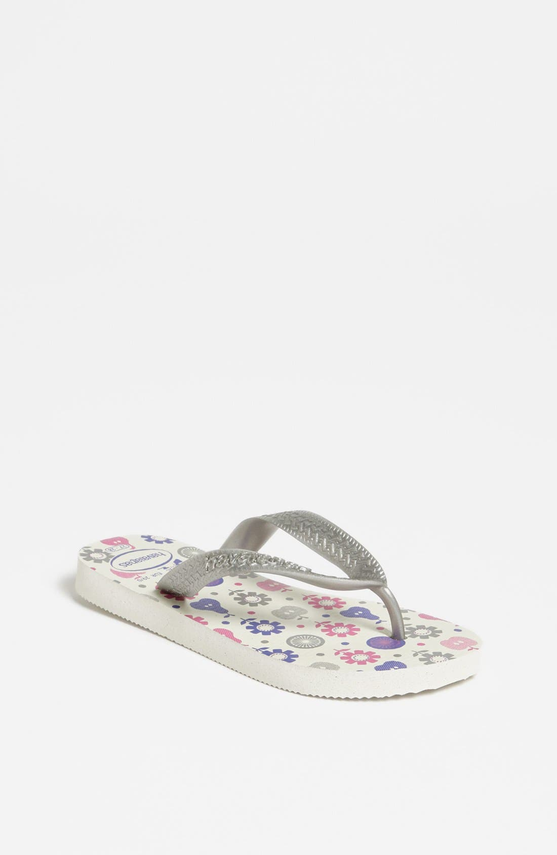 Alternate Image 1 Selected - Havaianas 'Flores' Flip Flop (Toddler & Little Kid)
