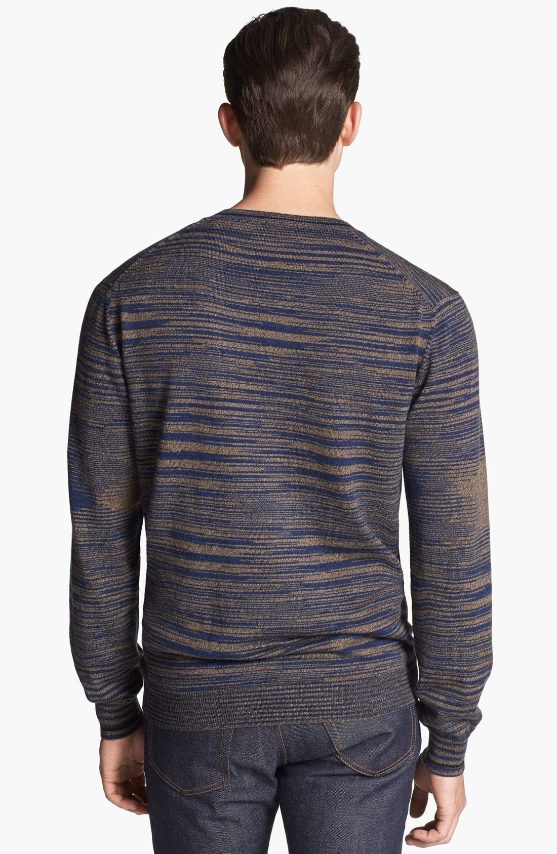 Alternate Image 2  - Missoni Space Dyed Wool V-Neck Sweater