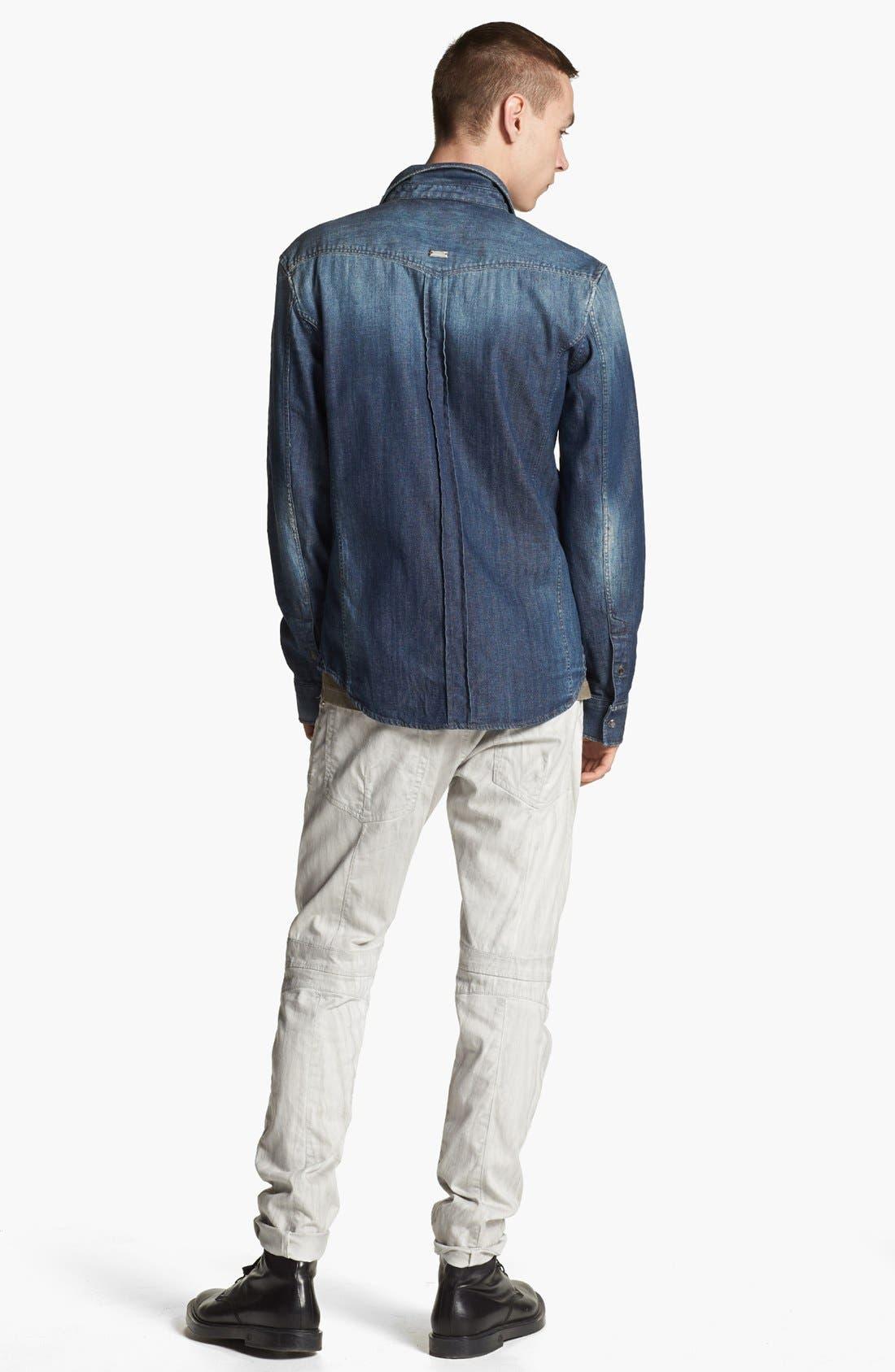 Alternate Image 5  - Pierre Balmain Denim Shirt (Online Only)