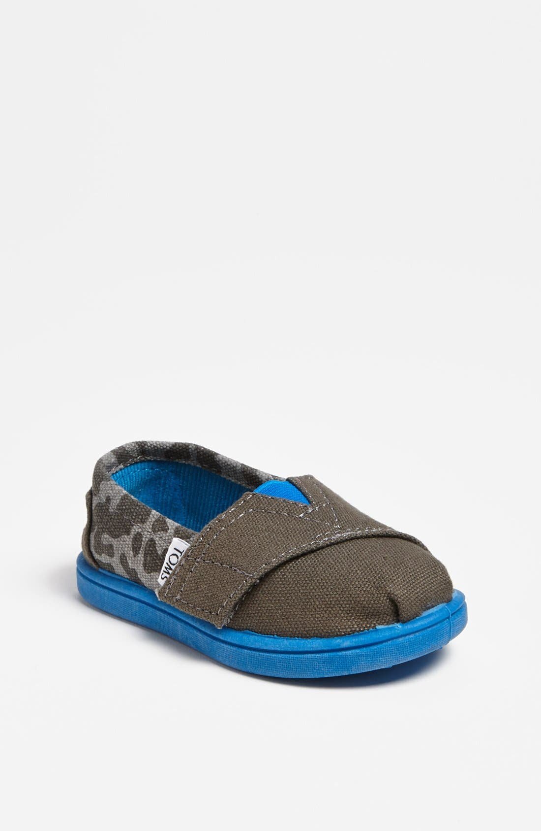 Alternate Image 1 Selected - TOMS 'Classic Tiny - Camo' Slip-On (Baby, Walker & Toddler)