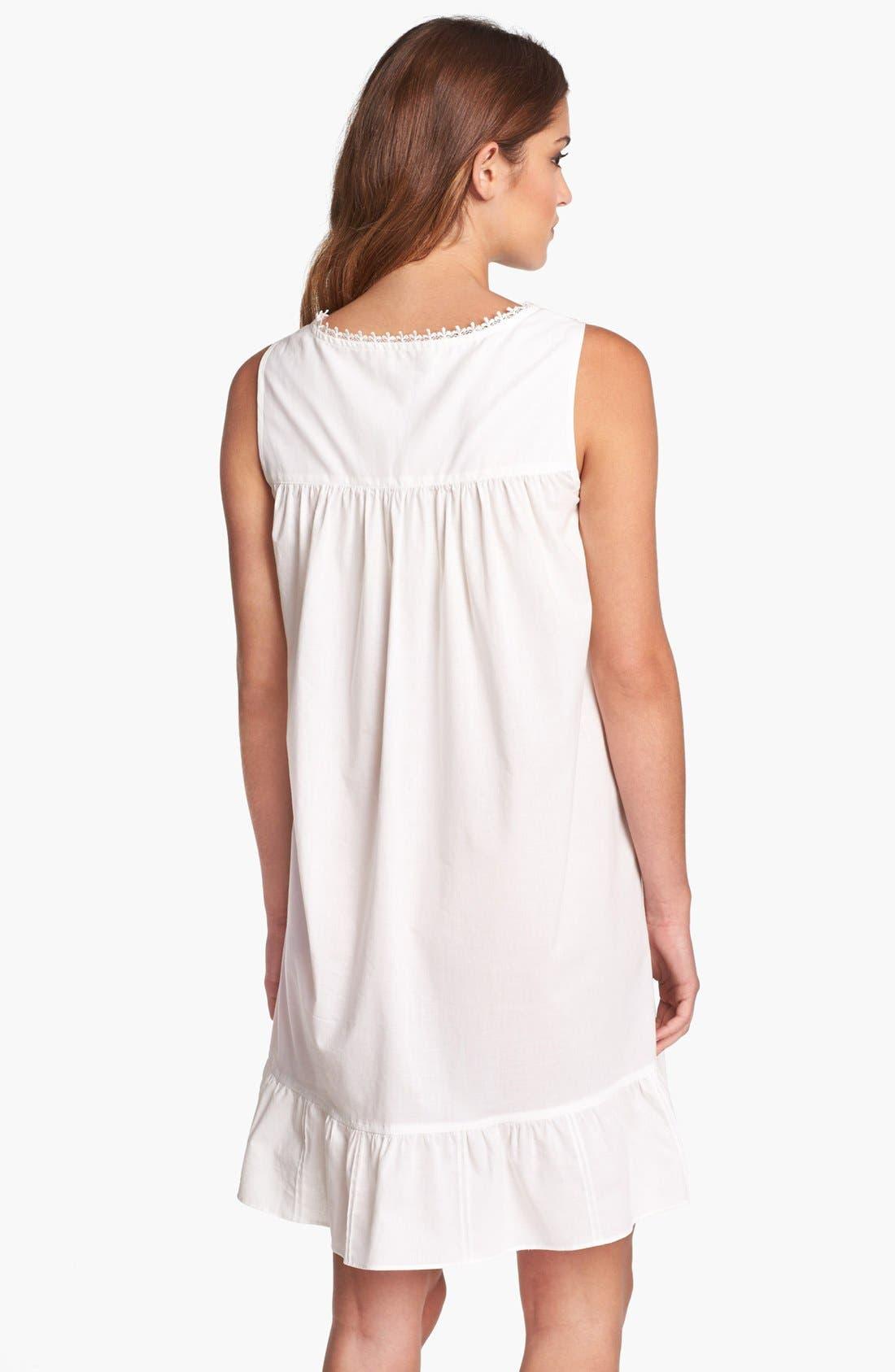 Alternate Image 2  - Eileen West 'Victorian Romance' Short Nightgown (Online Exclusive)